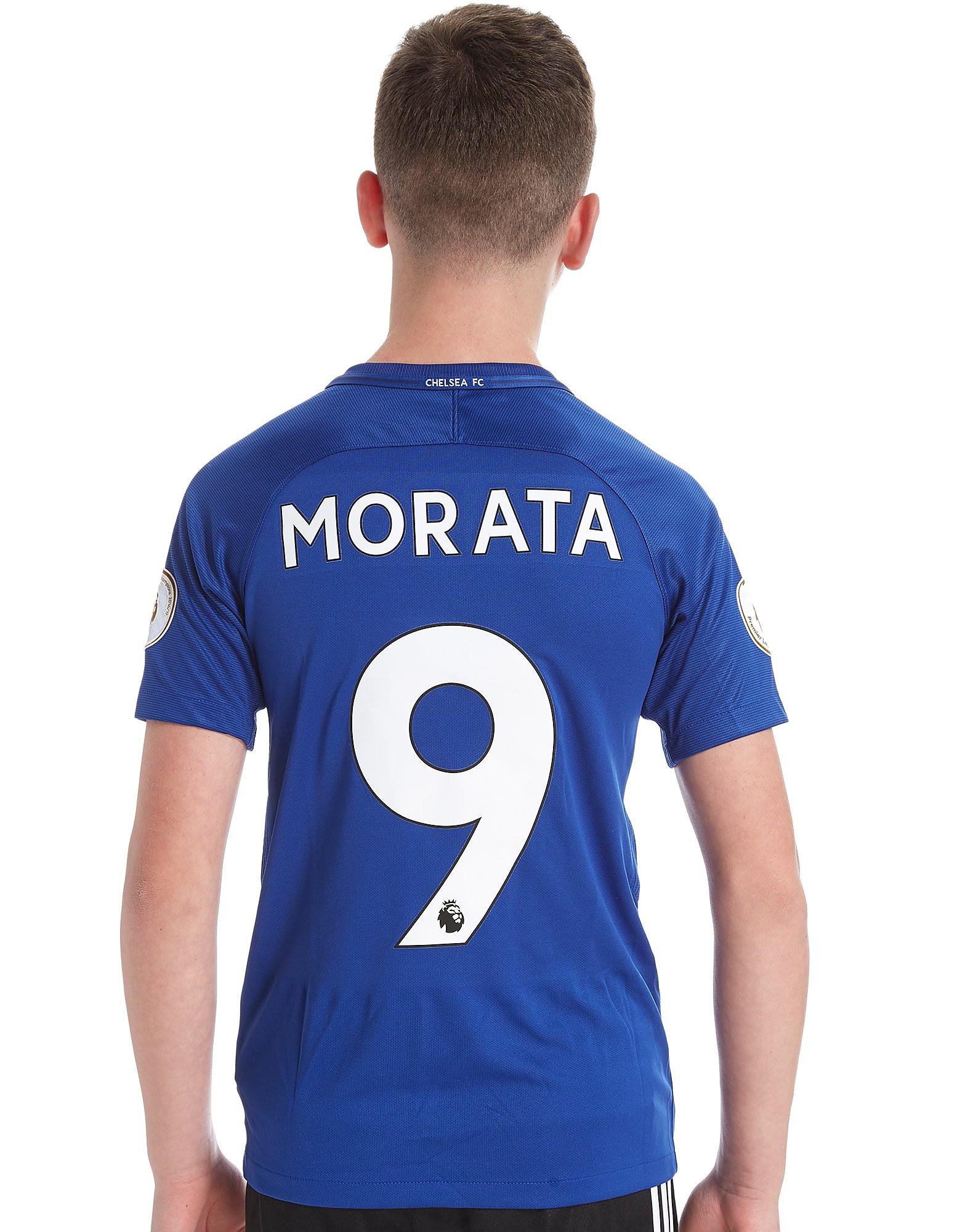Nike Chelsea FC Home 2017/18 Morata #9 Shirt Junior