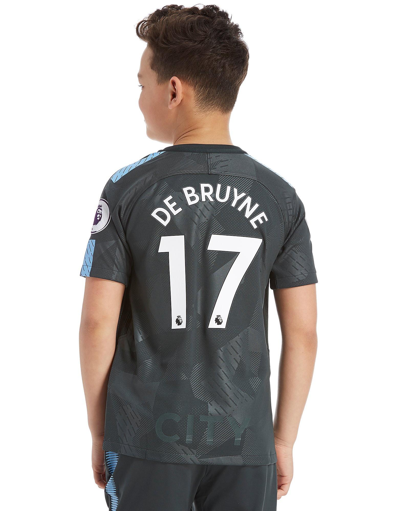 Nike Manchester City 2017 De Bruyne #17 Third Shirt Jnr