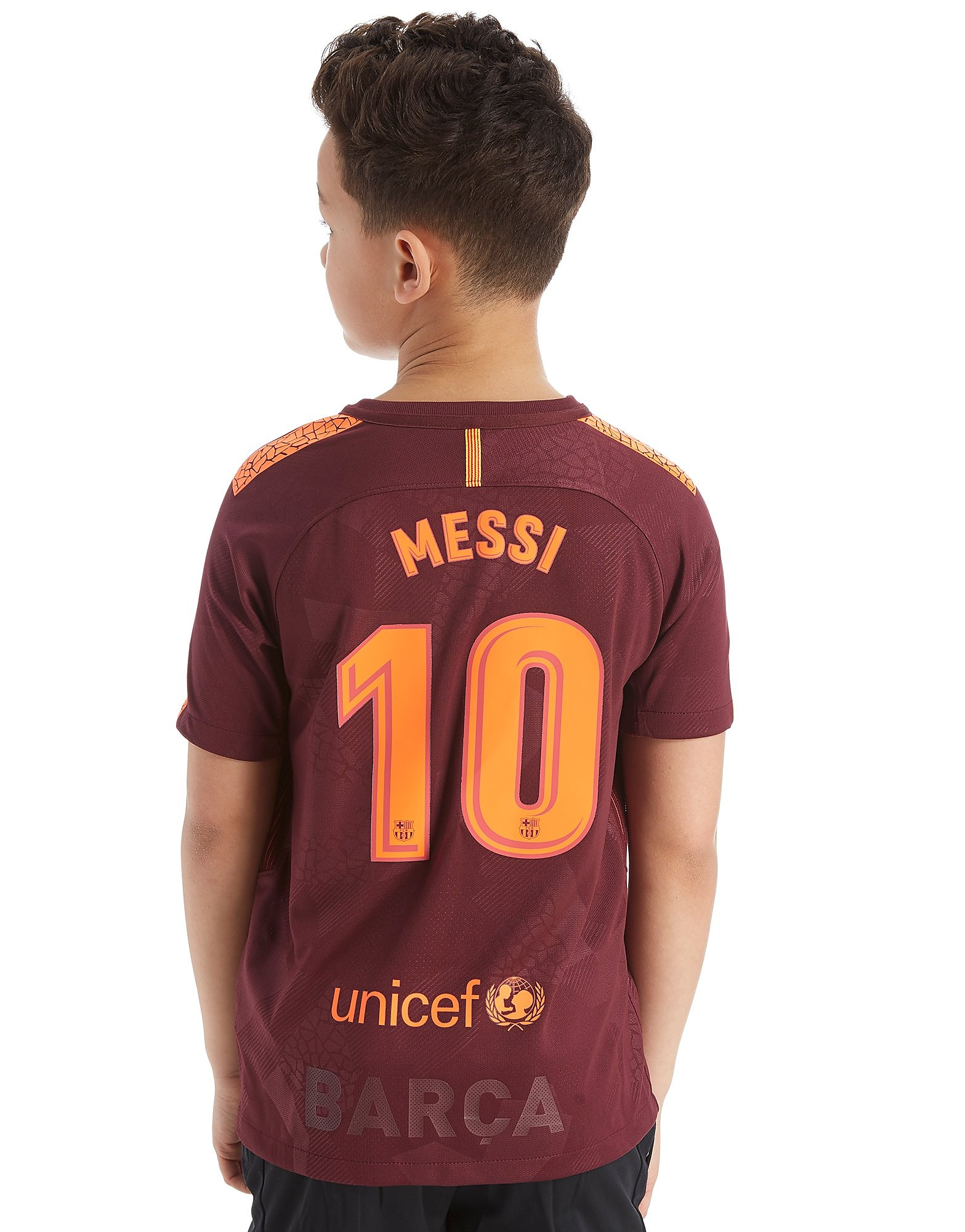 Nike FC Barcelona 2017 Messi #10 Third Shirt Junior