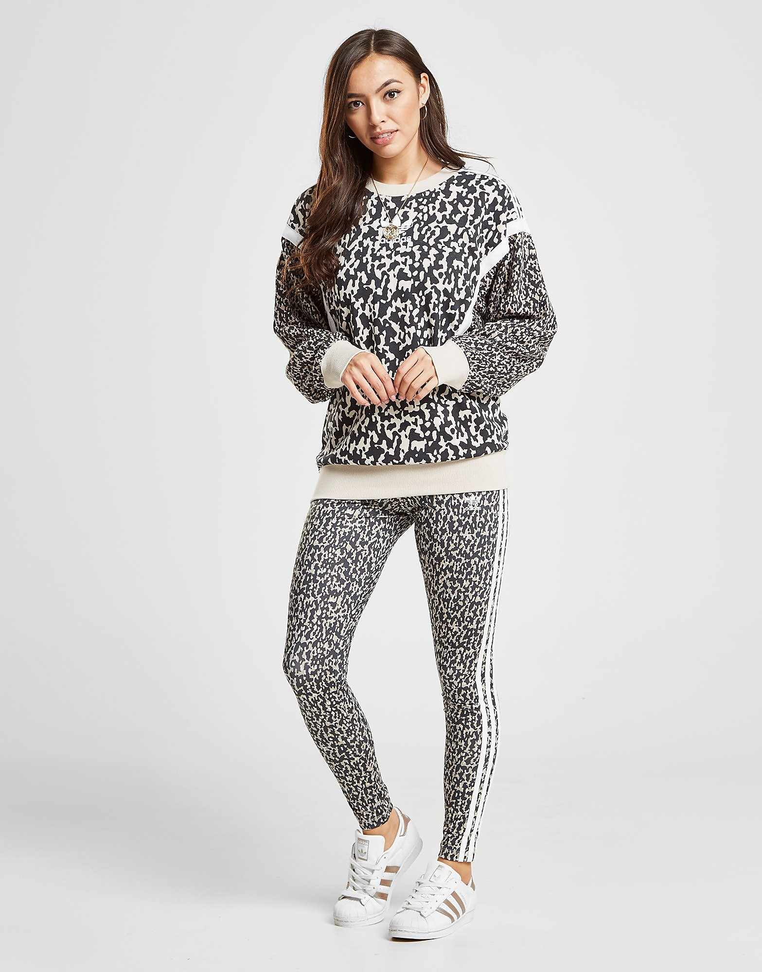adidas Originals 3-Stripes Leggings Dames - Zwart - Dames