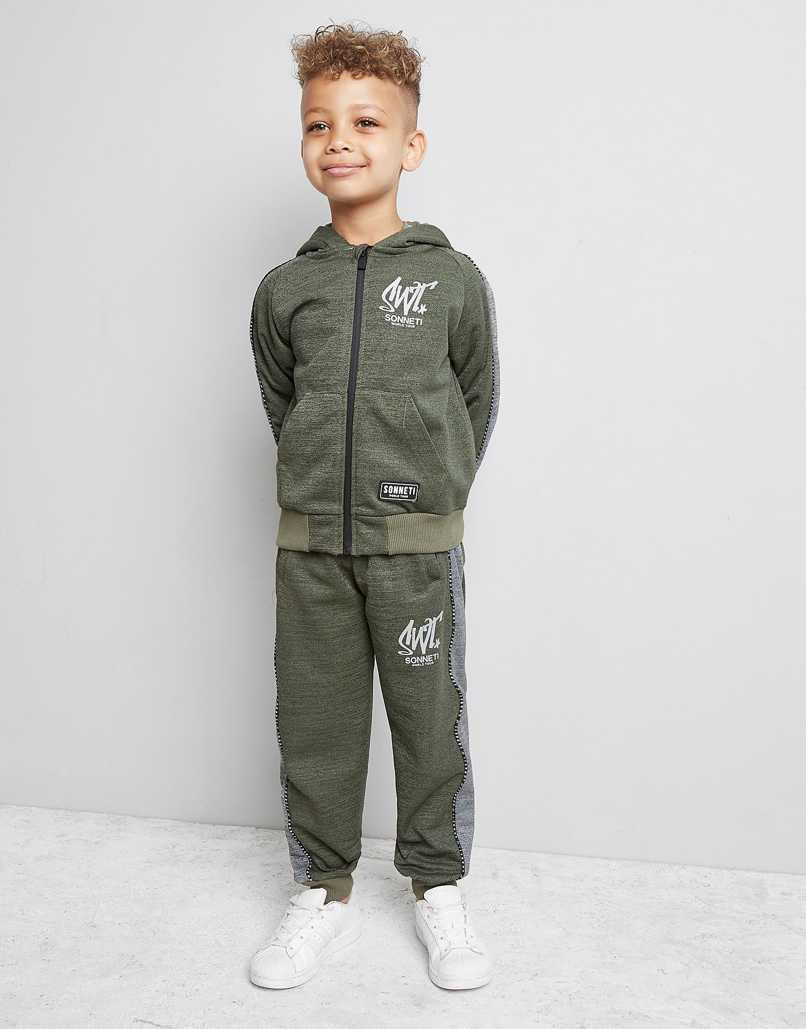 Sonneti Mini Welby Full Zip Tracksuit Children