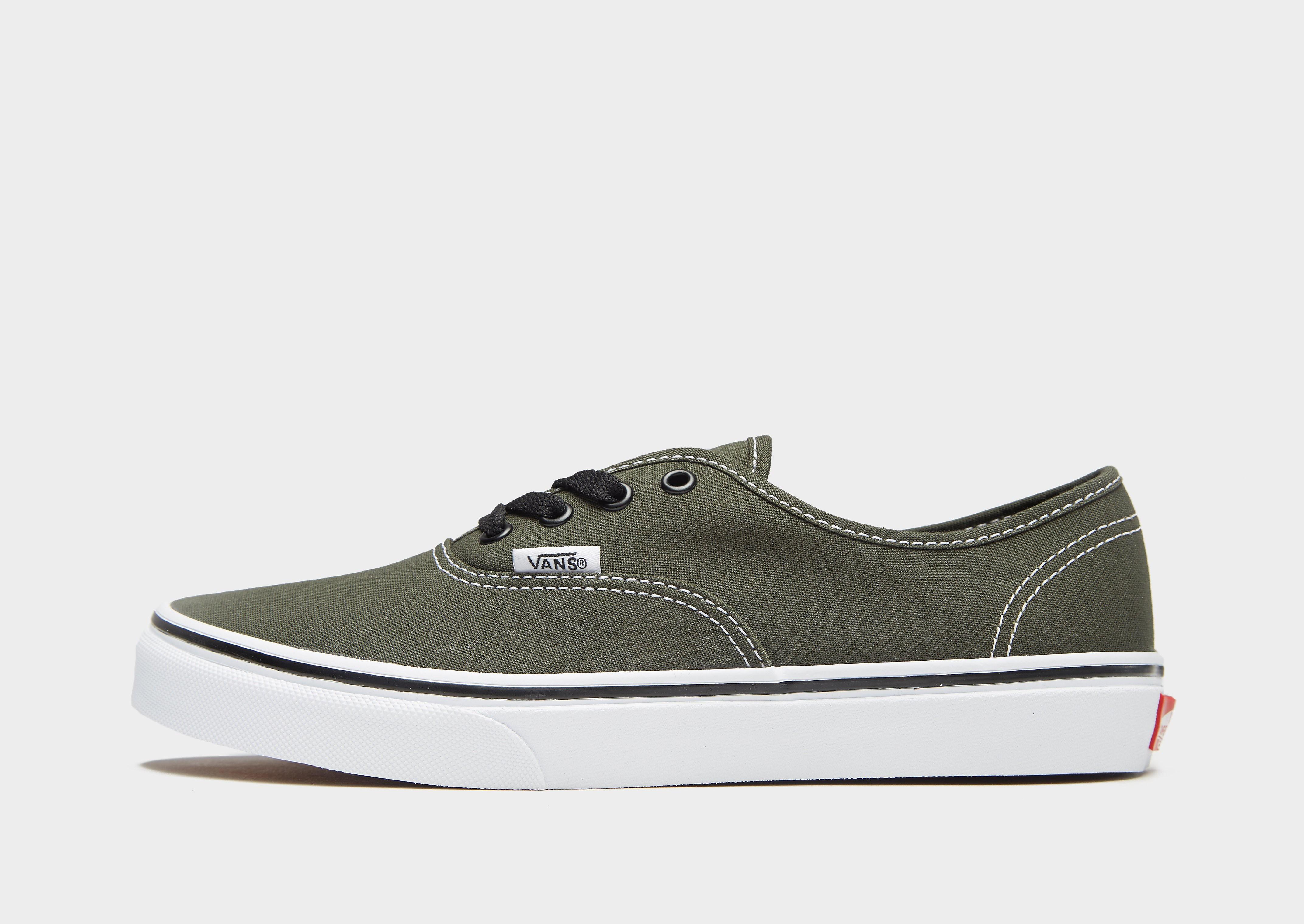 Vans Authentic Junior - Groen - Kind
