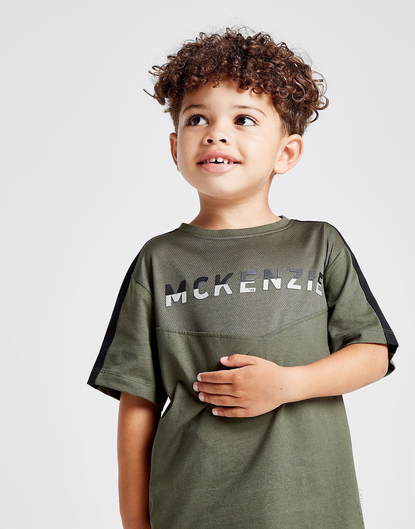 McKenzie Mini Aero T-Shirt Kinderen - Groen - Kind