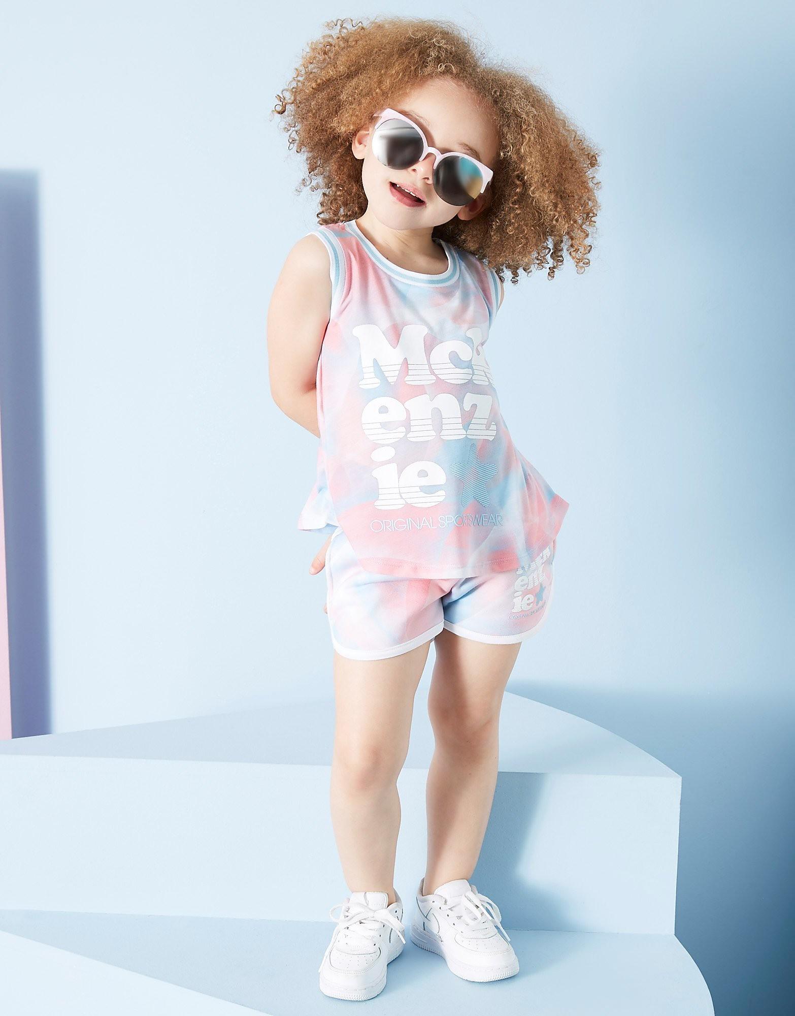 McKenzie Girls' Petra Vest/Shorts Set