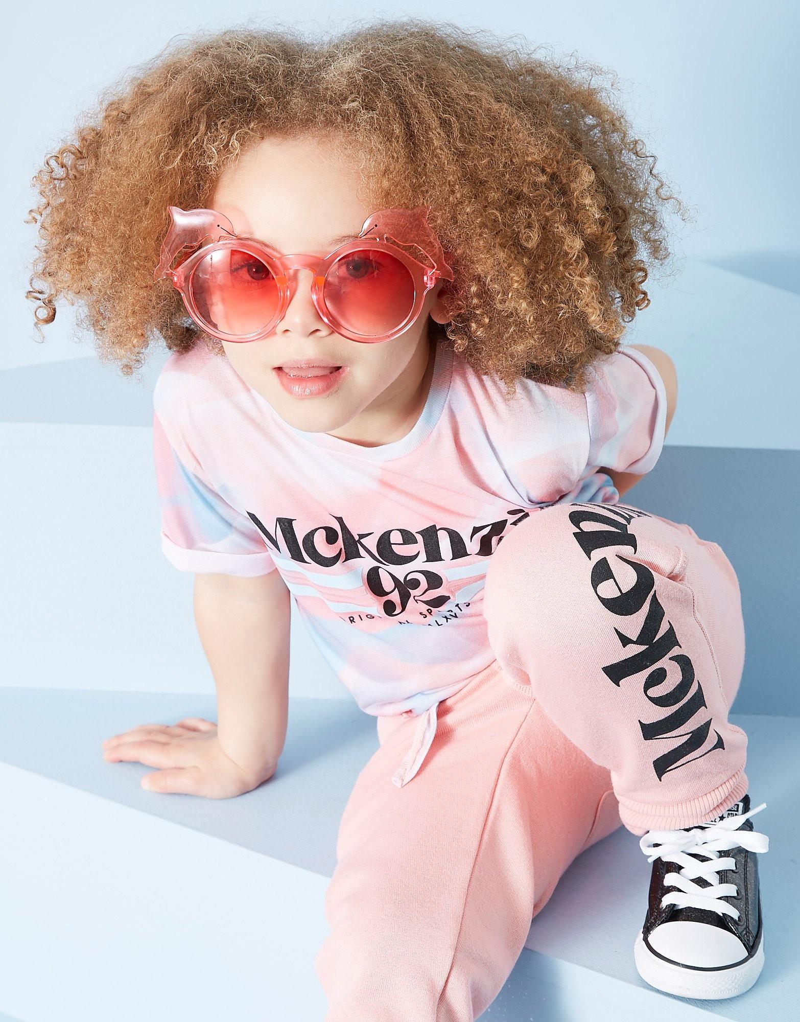 McKenzie Girls' Zoe Front Knot T-Shirt Kinderen - Roze - Kind