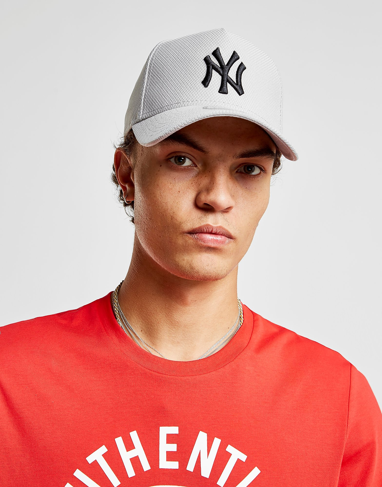 New Era MLB A Frame New York Yankees Diamond Era Cap - Grijs - Heren