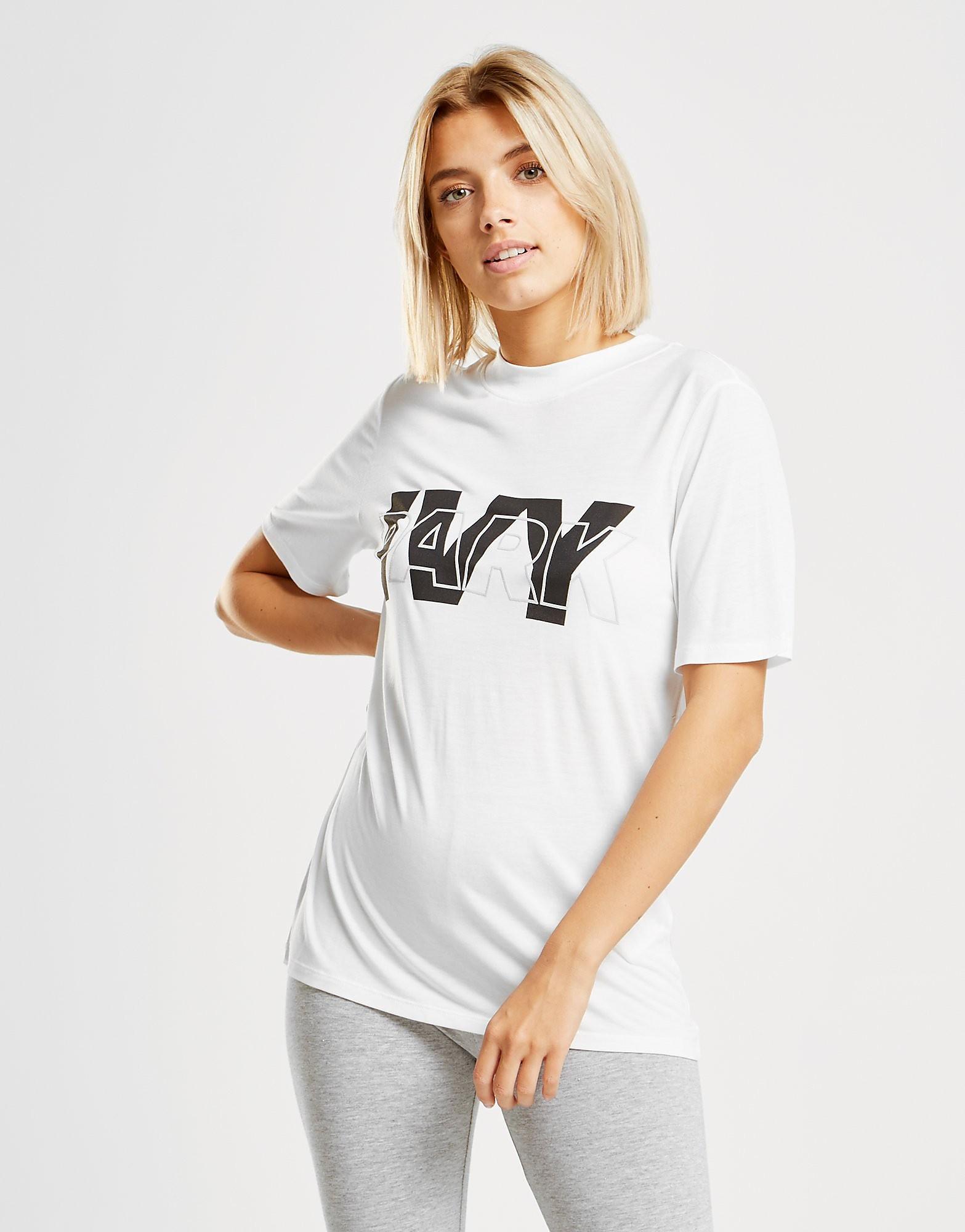 IVY PARK Layer Logo Slim T-Shirt Dames - Wit - Dames