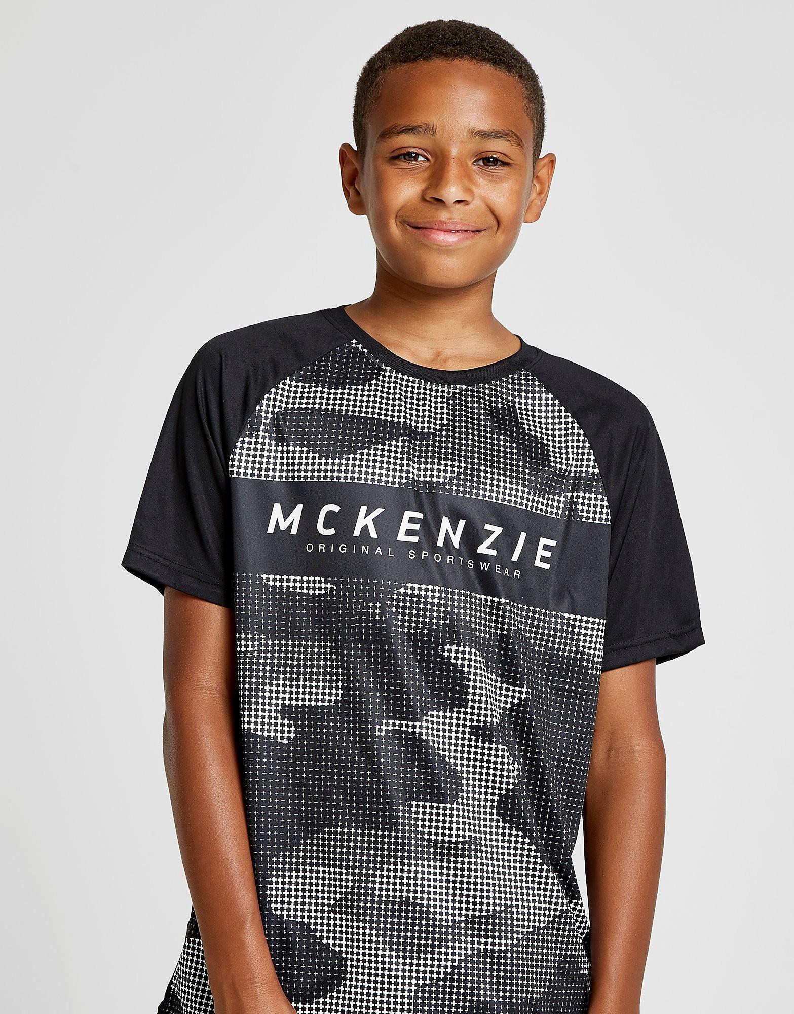 McKenzie Cosmic Poly T-Shirt Junior - alleen bij JD - Zwart - Kind