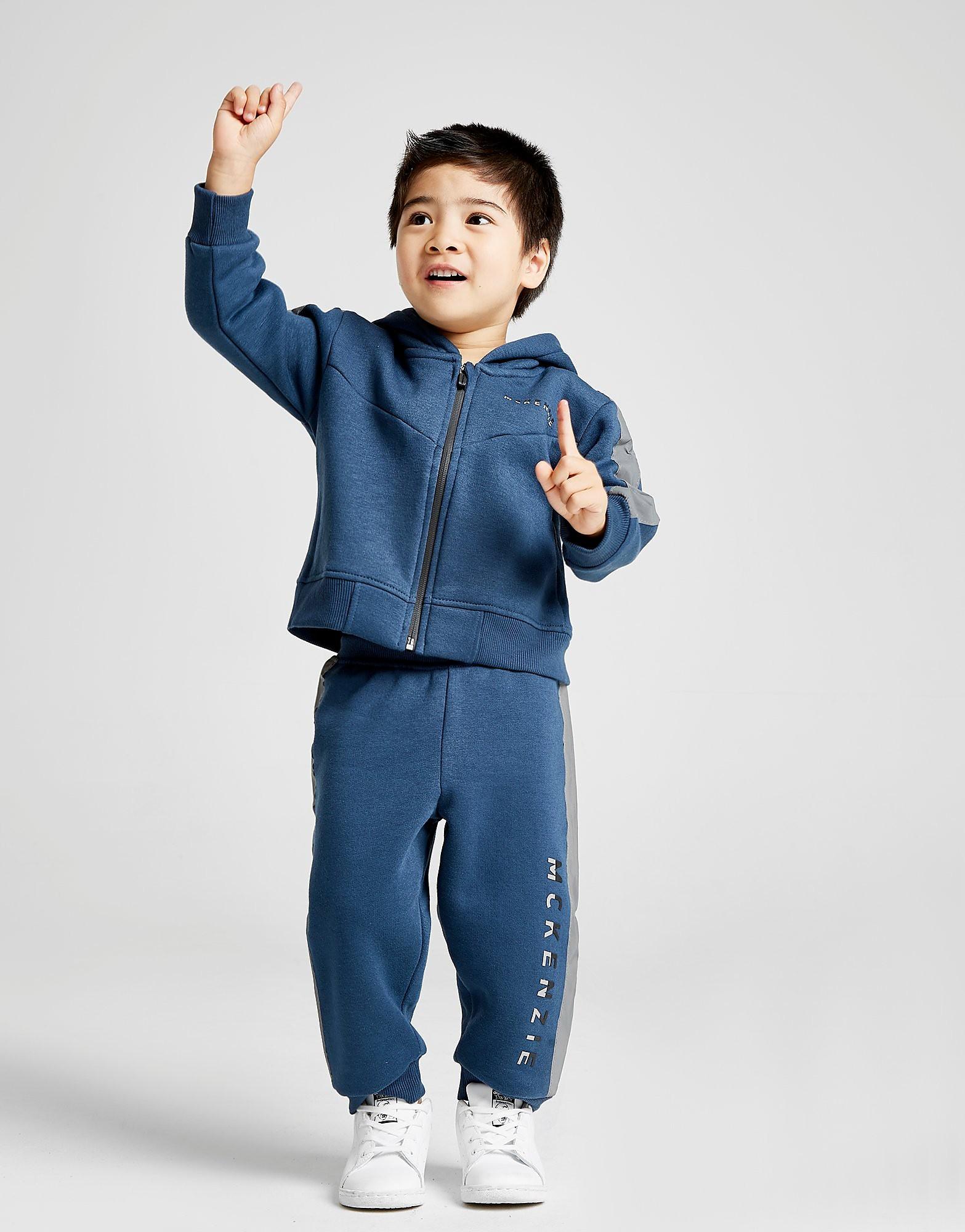 McKenzie Micro Rocket Full Zip Tracksuit Baby's - alleen bij JD - Blauw - Kind