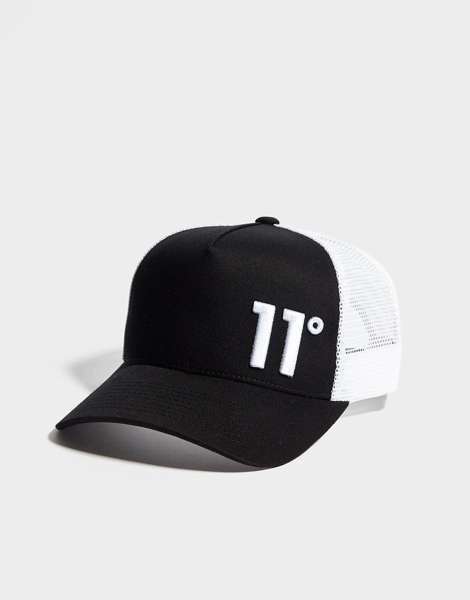 11 Degrees Trucker Cap - Zwart - Heren