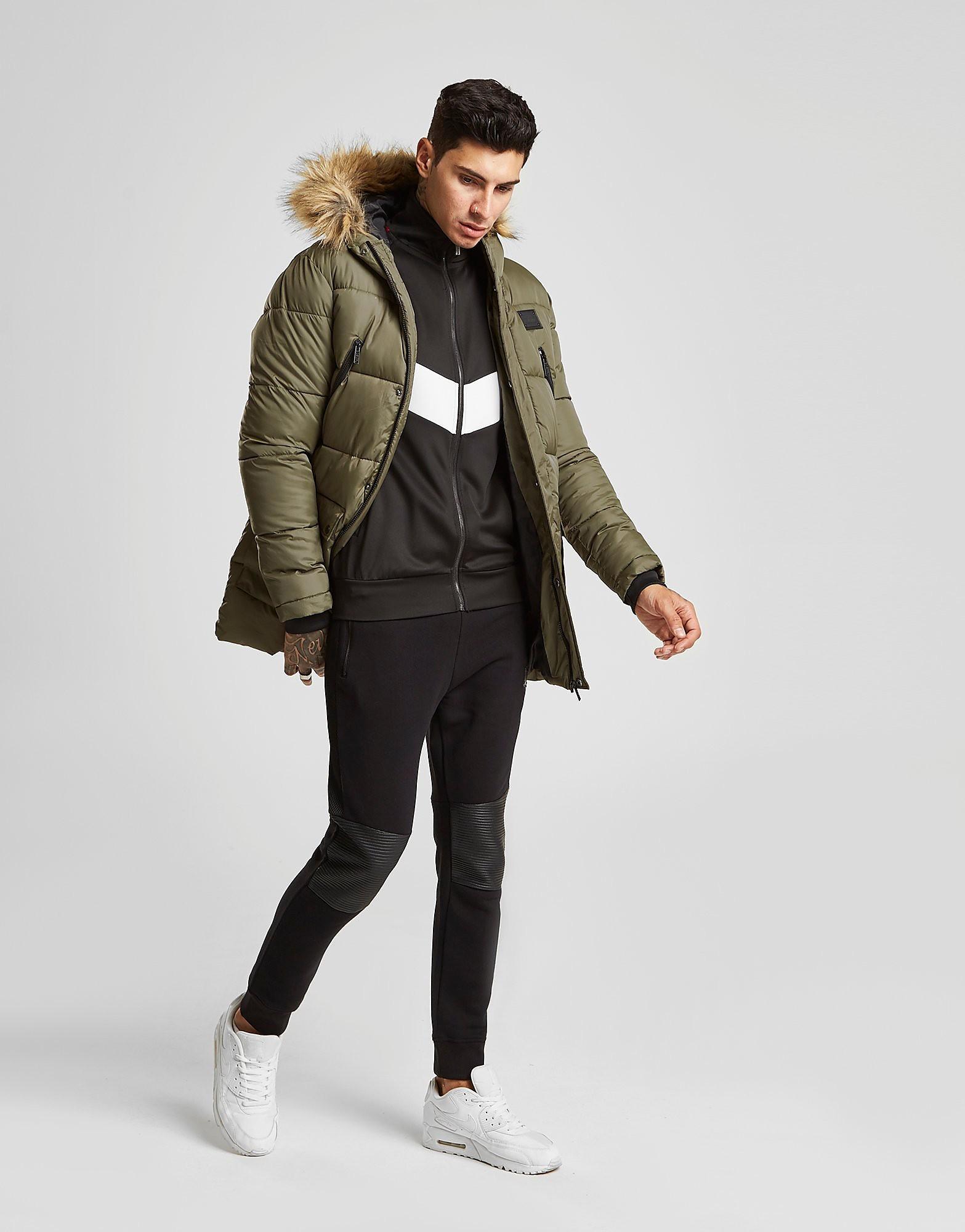 Supply & Demand Deux Parka Jacket Heren - Khaki - Heren