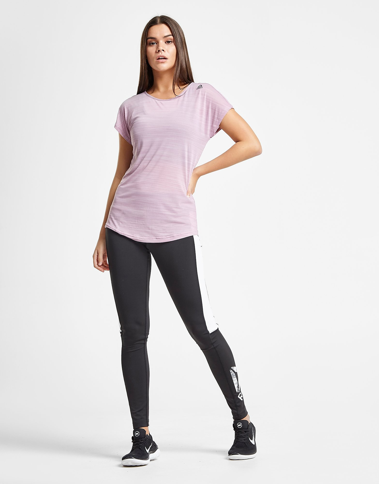 Reebok Active Chill T-Shirt Dames - Paars - Dames