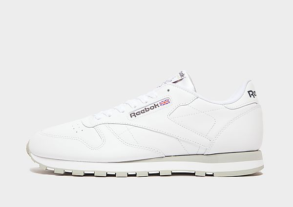 Reebok Classic Leather, White/Grey