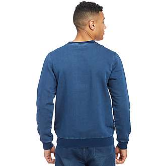 adidas Originals Fleece Denim Sweatshirt