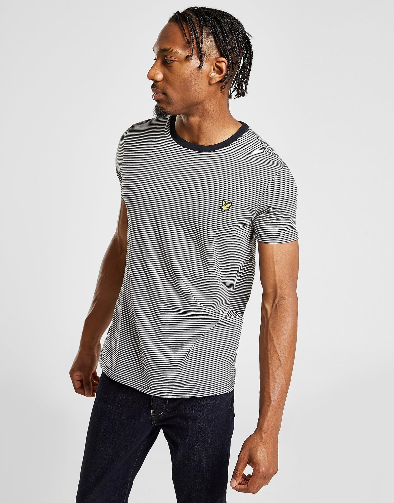 Lyle & Scott Stripe T-Shirt Heren - alleen bij JD - Zwart - Heren