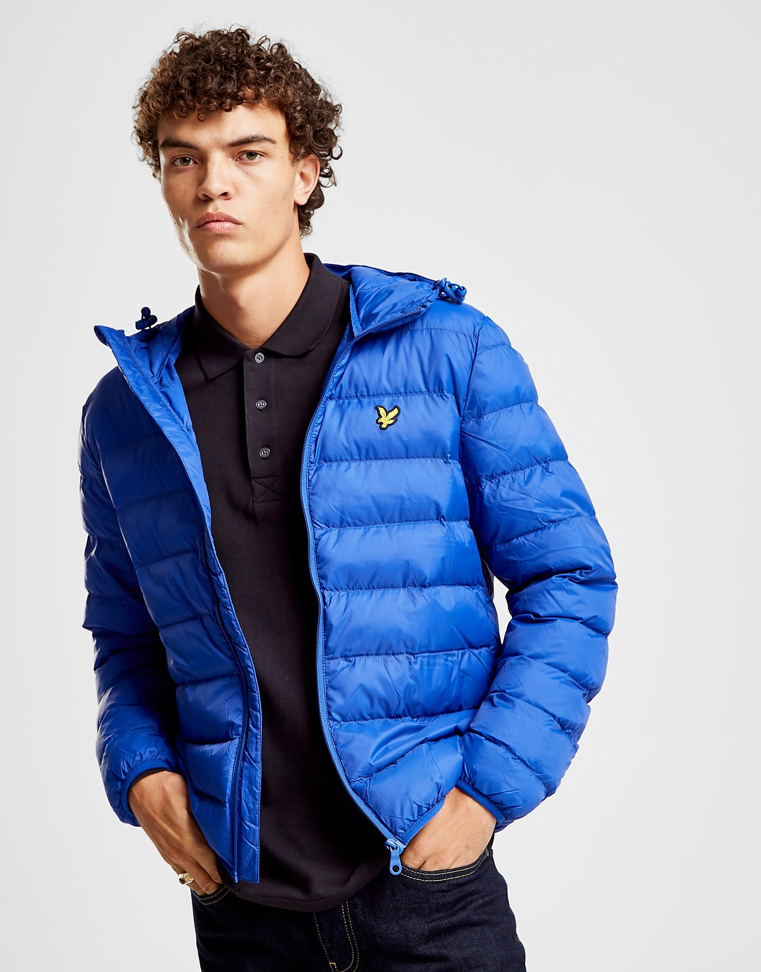 Lyle & Scott Lightweight Bubble Jacket Heren - Blauw - Heren