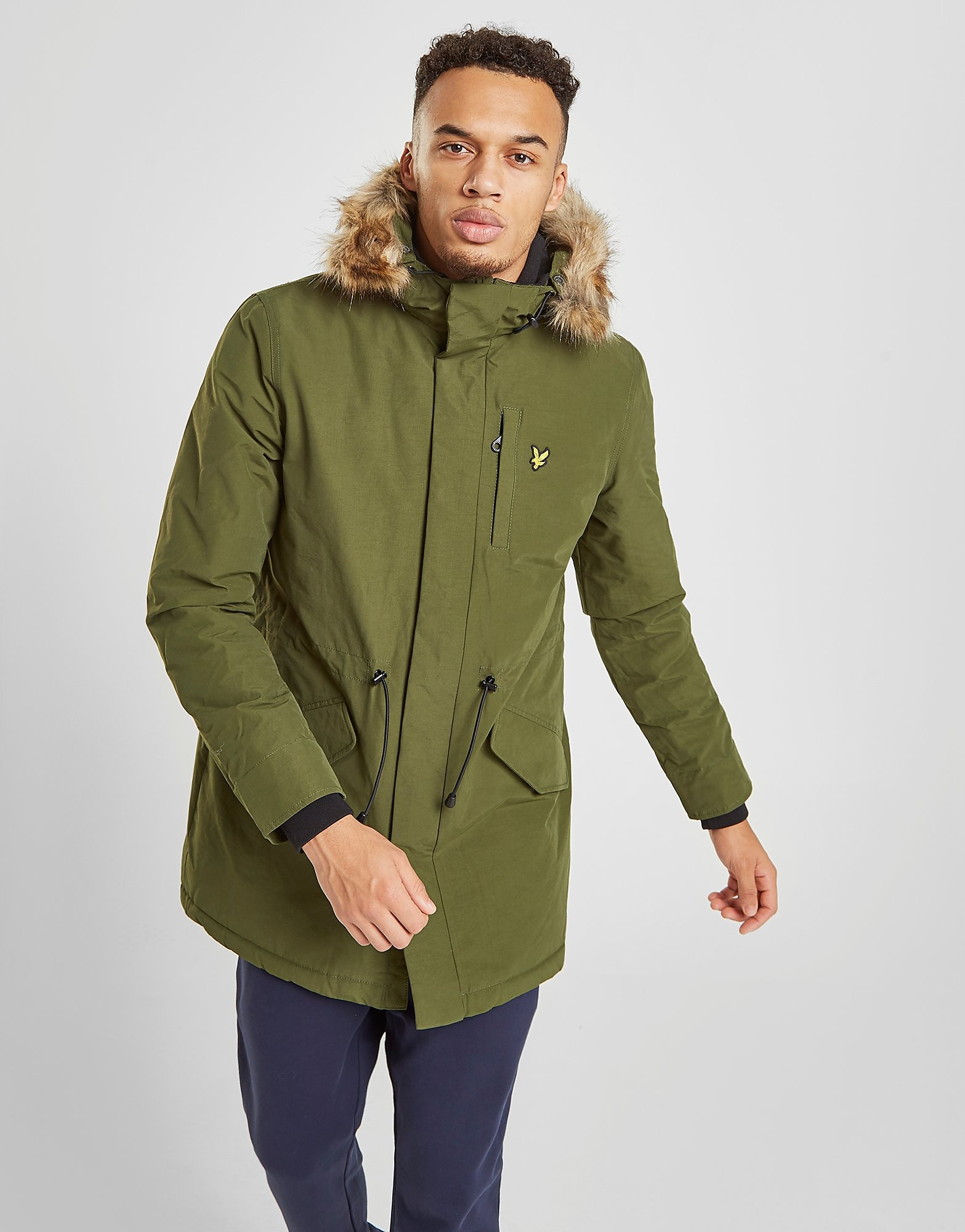 Lyle & Scott Parka Jacket Heren - Groen - Heren