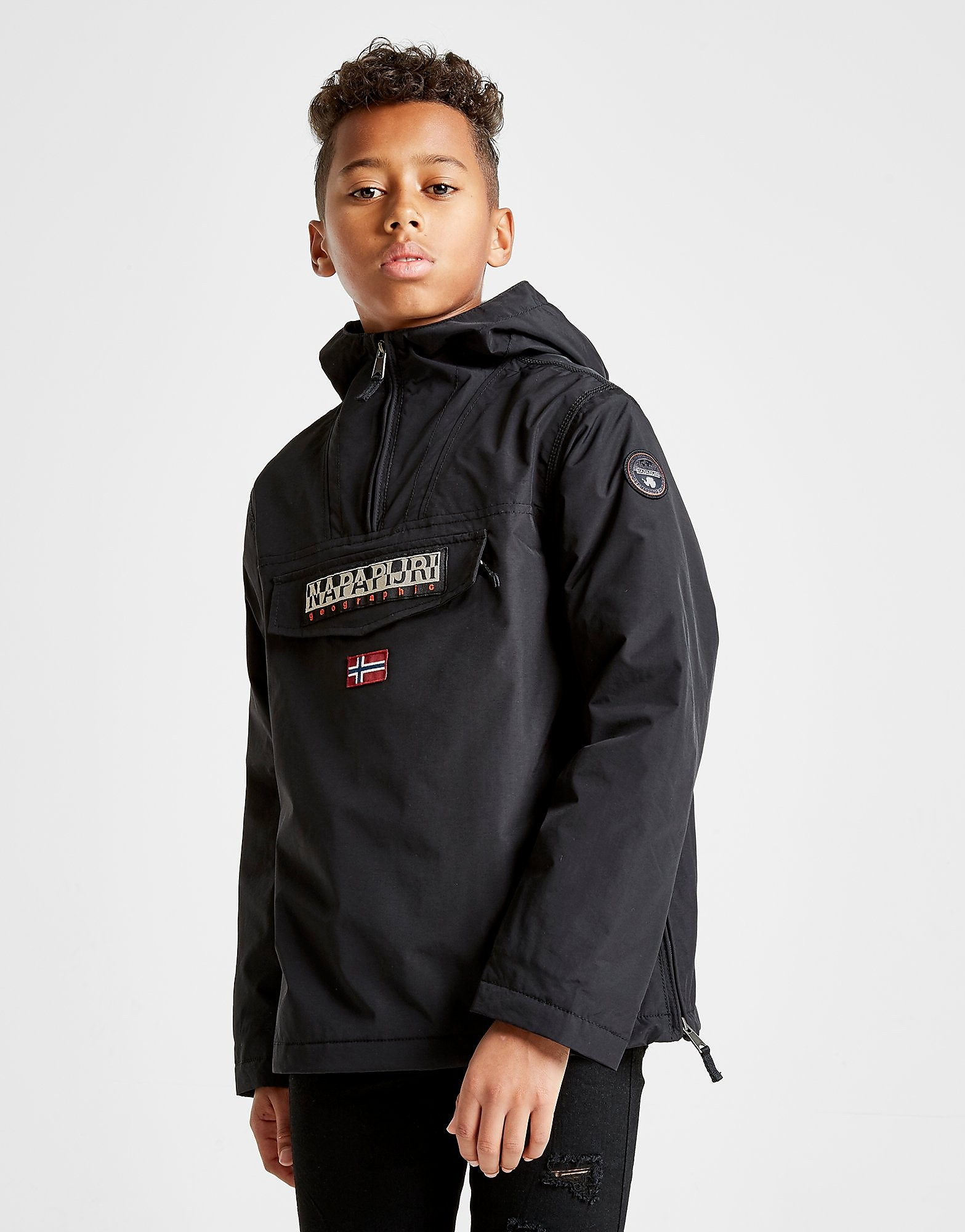 Napapijri Rainforest Jacket Junior - Zwart - Kind
