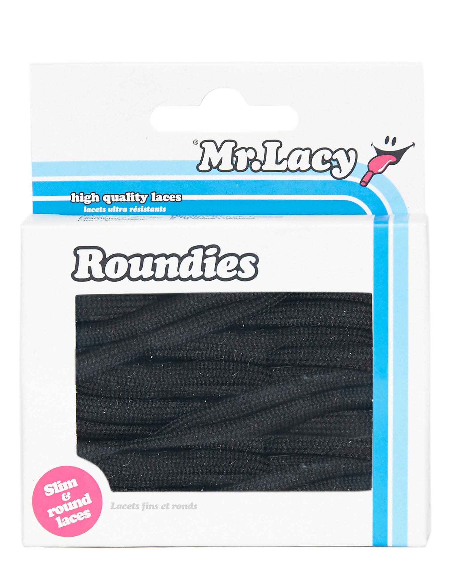 Mr Lacy Roundie-snørebånd