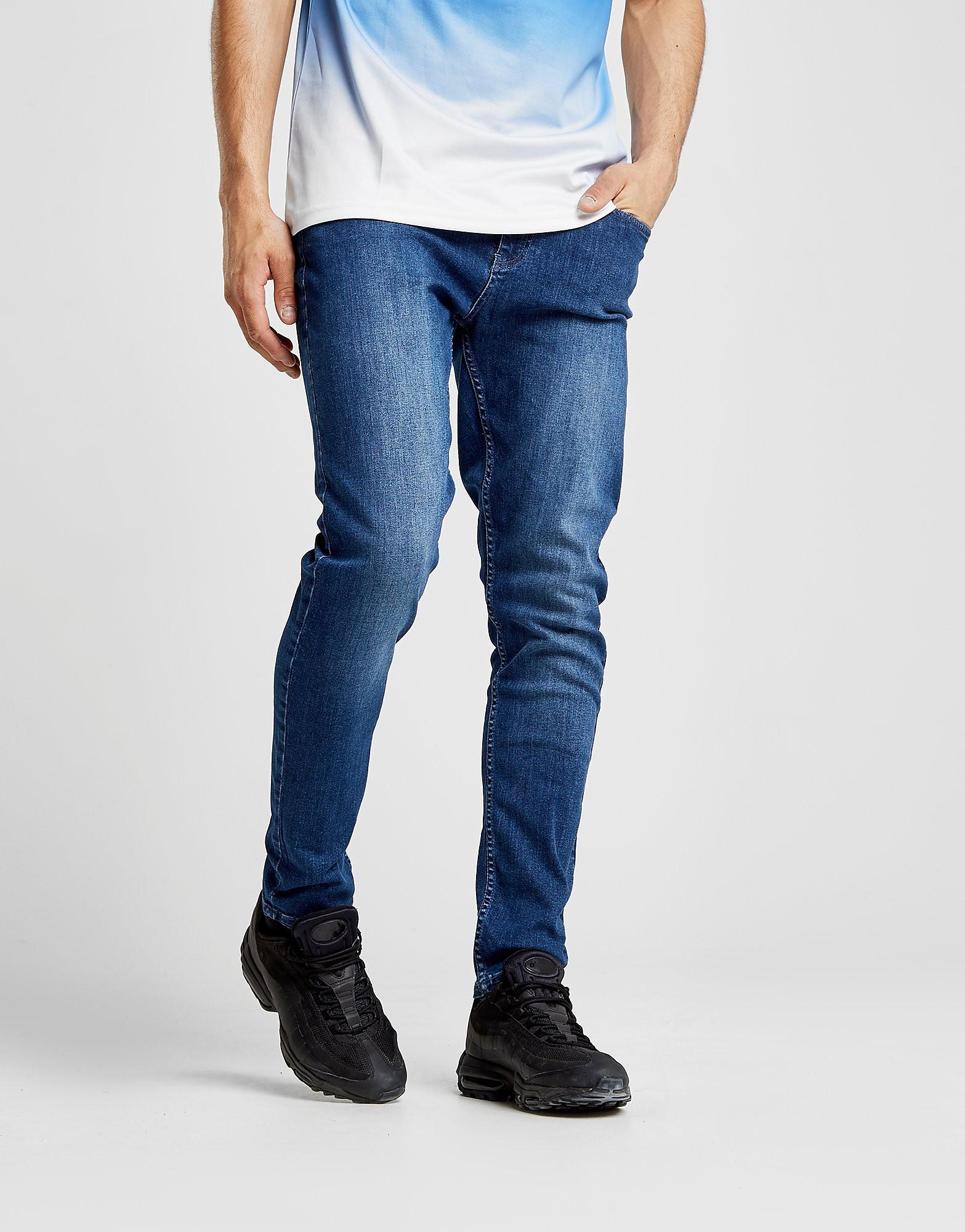 Supply & Demand Essential Slim Leg Jeans Heren - Indigo - Heren