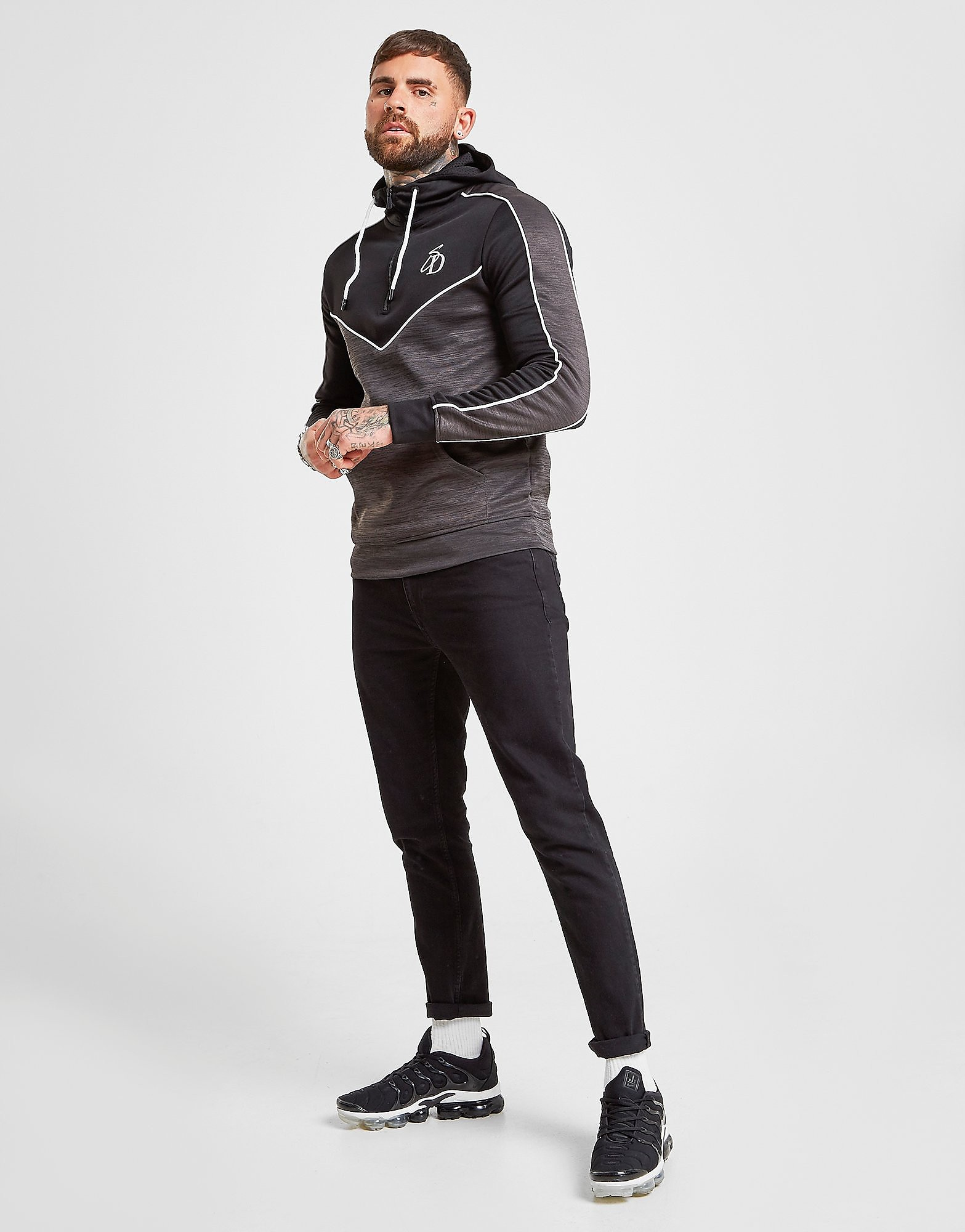 Supply & Demand Essential Slim Leg Jeans Heren - Zwart - Heren
