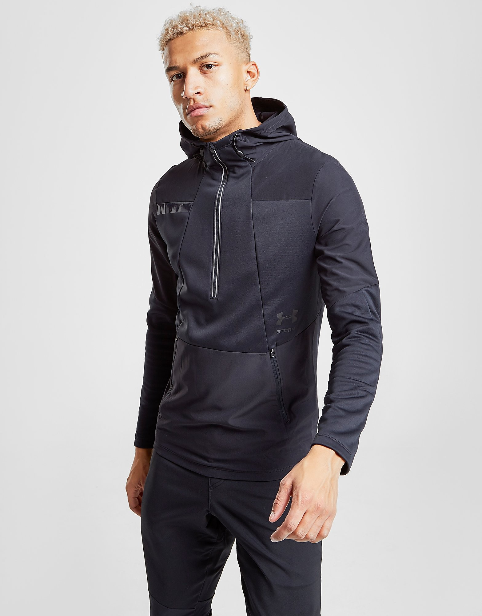 Under Armour Cyclone 1/2 Zip Hoodie Heren - Blauw - Heren