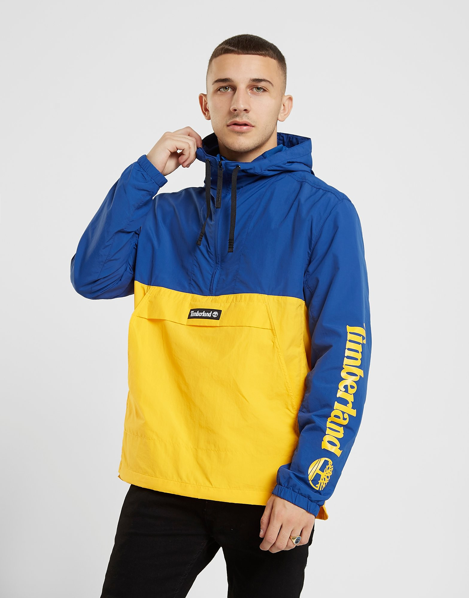 Timberland 1/4 Zip Colour Block Jacket - Blauw - Heren
