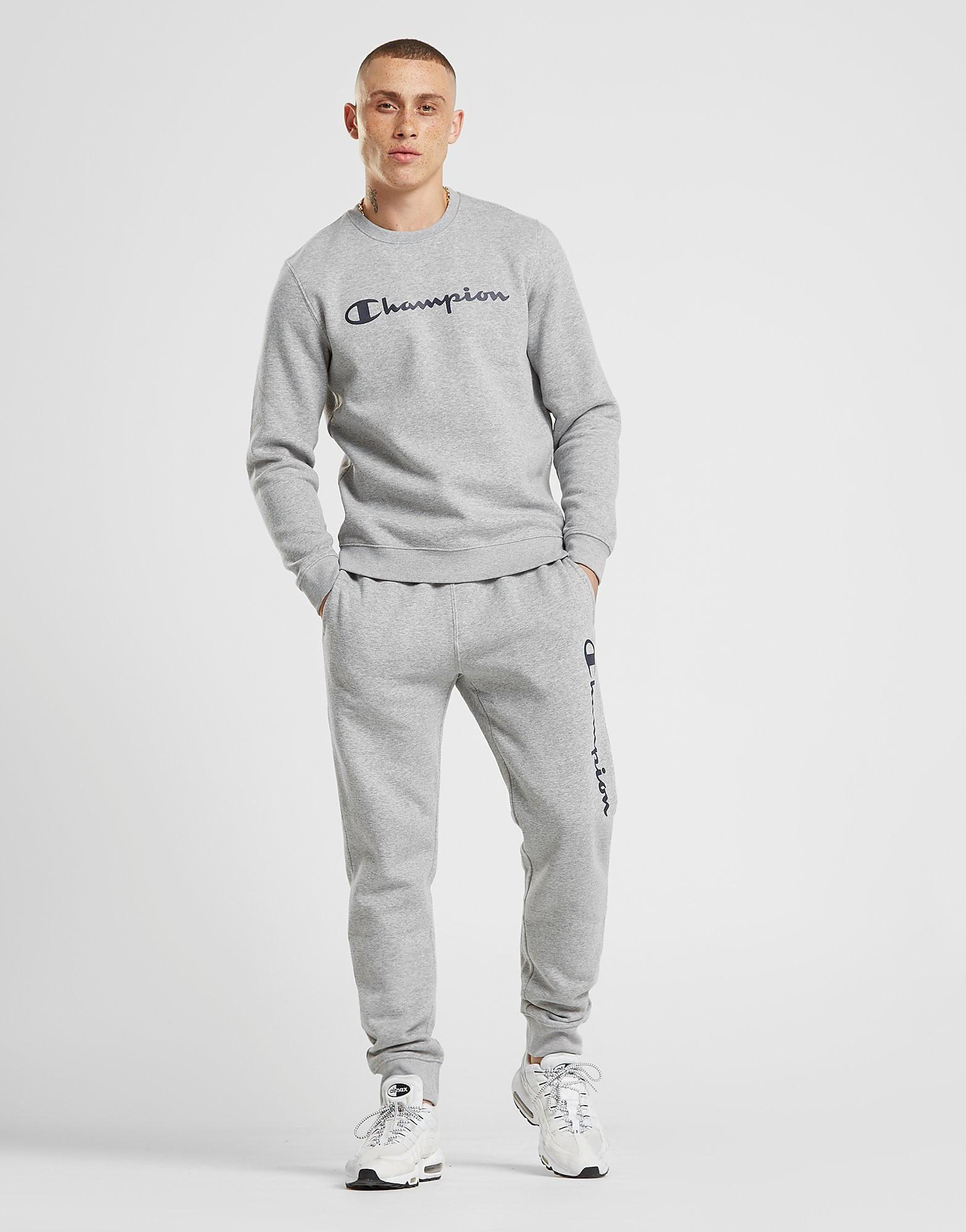 Champion Core Track Pants Heren - alleen bij JD - Grijs - Heren
