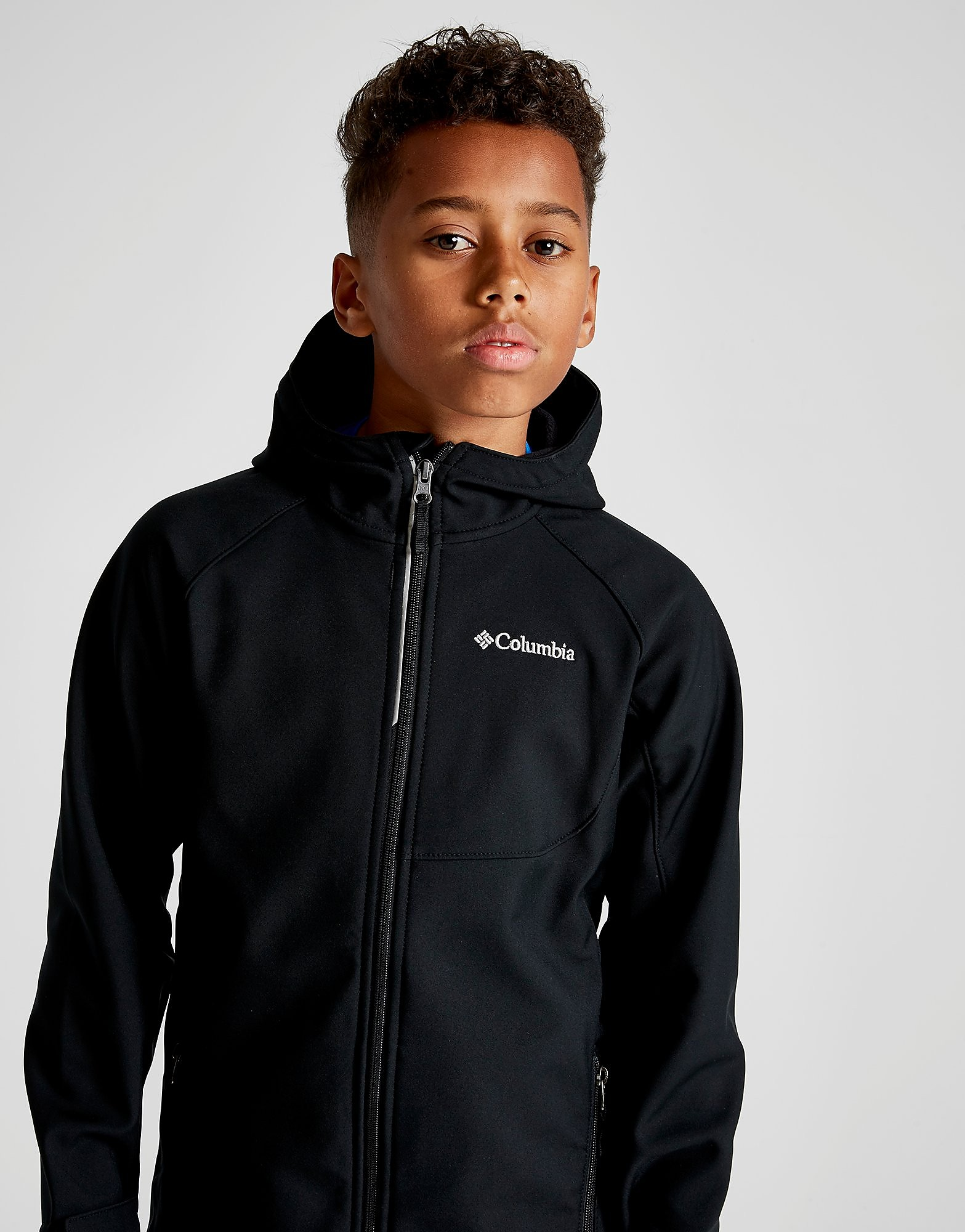 Columbia Cascade Shell Jacket Junior - Zwart - Kind