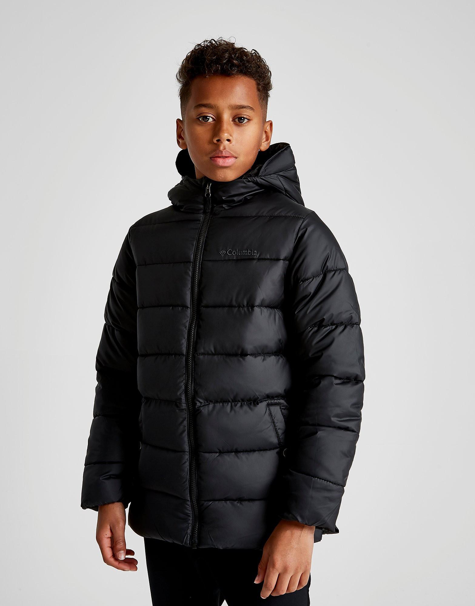 Columbia Puffer Jacket Junior - Zwart - Kind