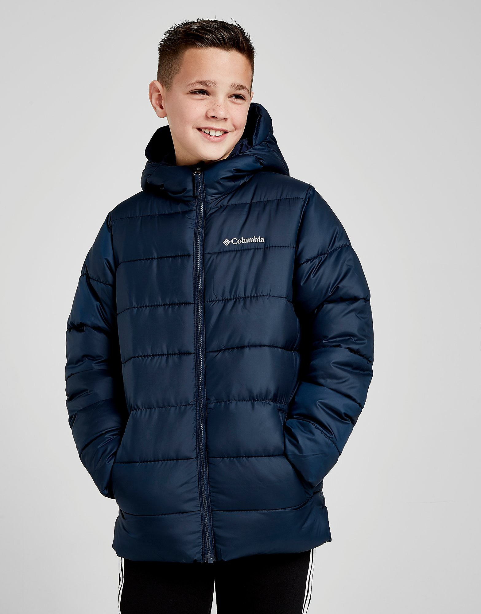 Columbia Puffer Jacket Junior - Blauw - Kind