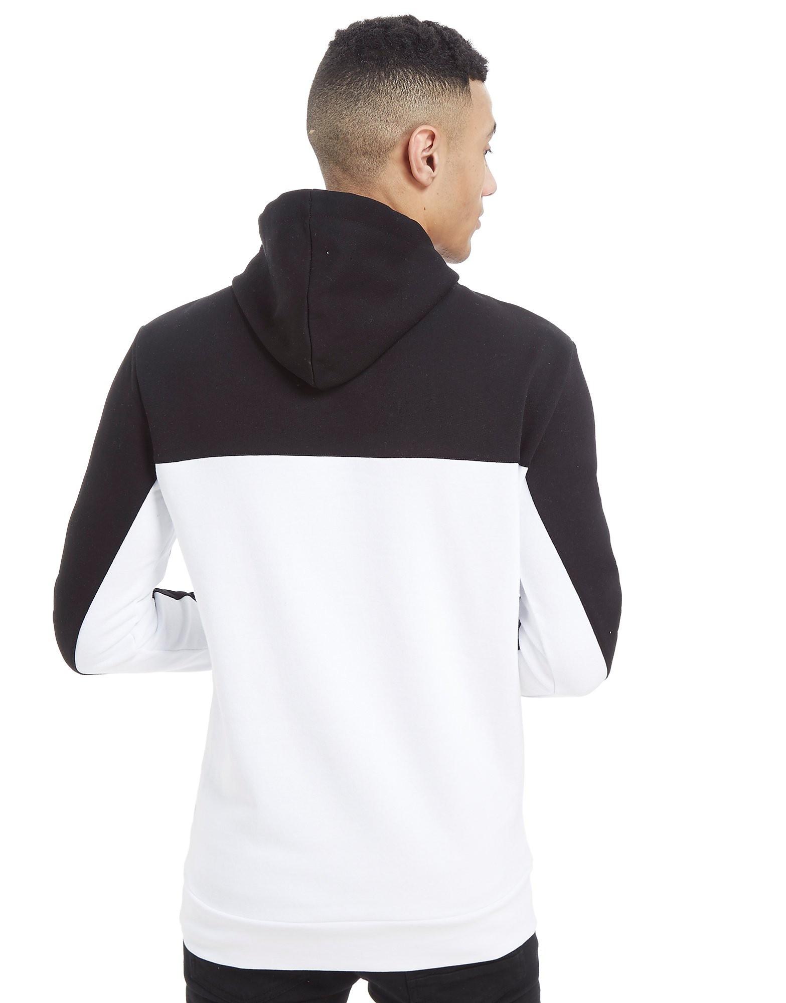 11 Degrees Colourblock Fleece Hoodie