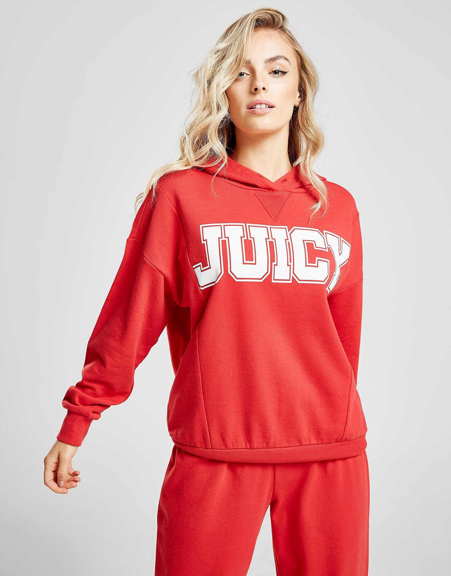 Juicy by Juicy Couture Collegiate Hoodie Dames - alleen bij JD - Rood - Dames