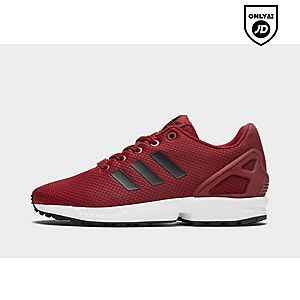 1009e91aa cheapest adidas originals zx flux junior red 4bb91 5bece