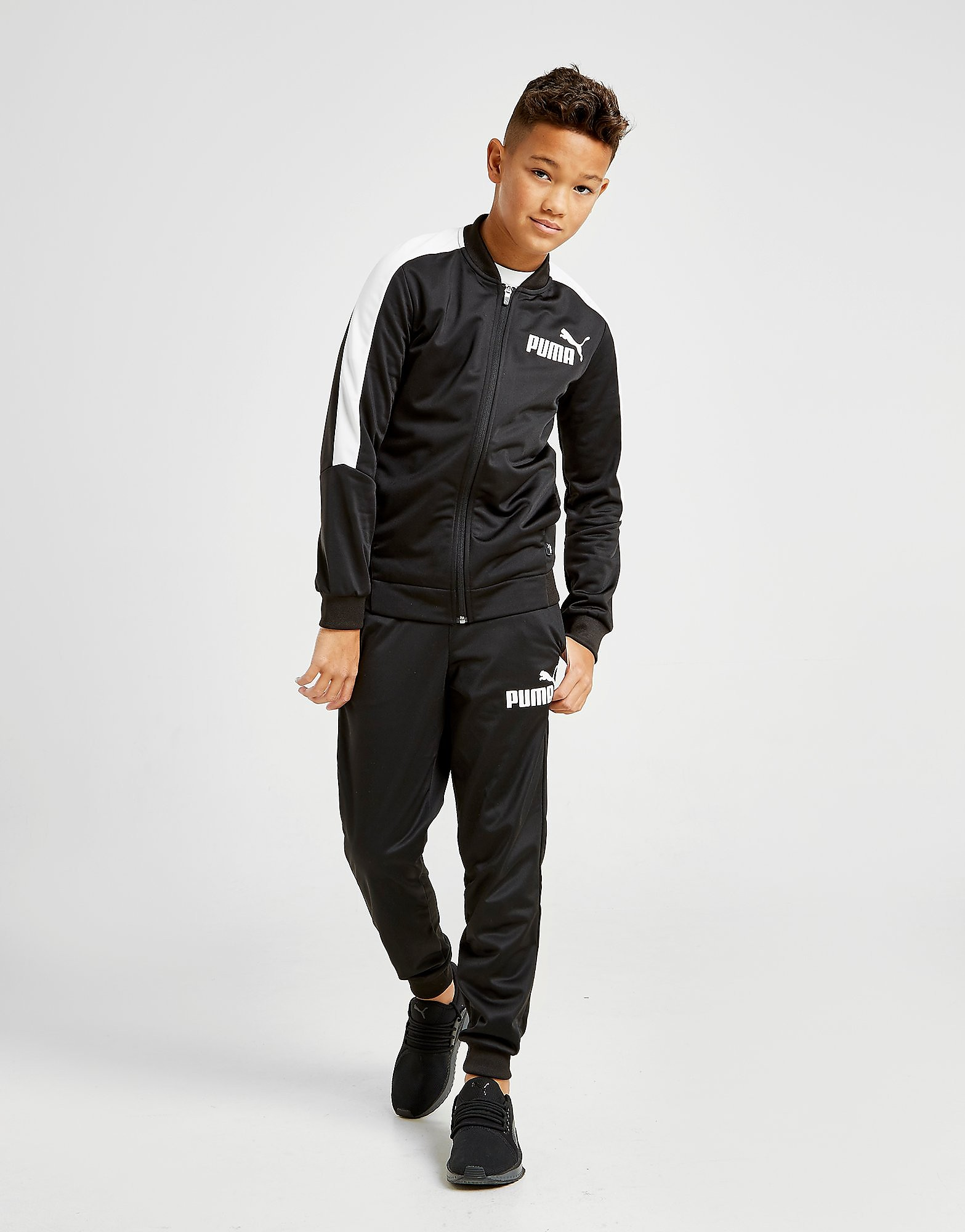 PUMA Baseball Poly Suit Junior - Zwart - Kind