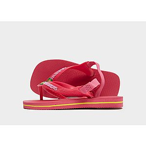 3bedee303 Havaianas Brasil Logo Flip Flops Infant ...