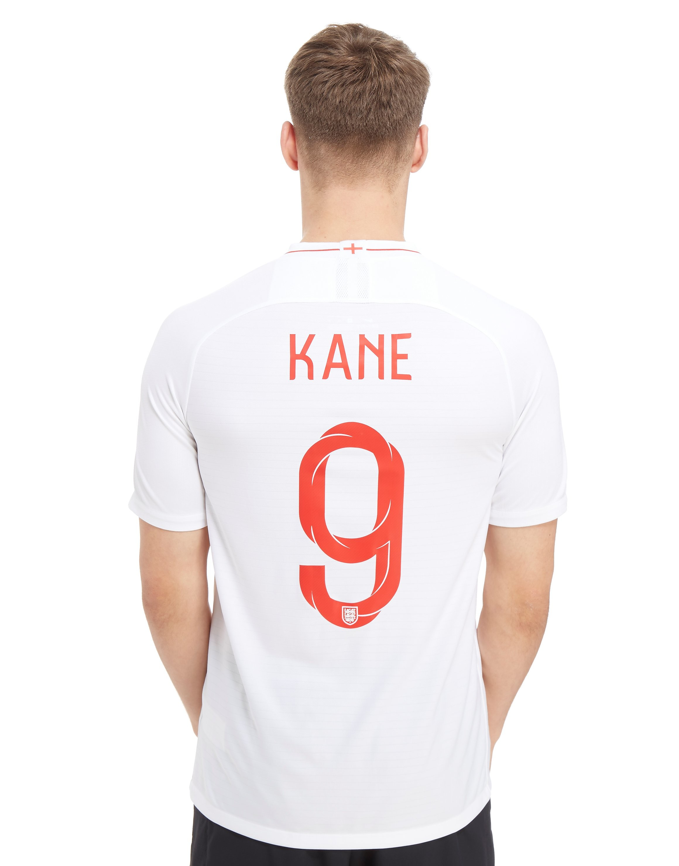 Nike England 2018 Kane #9 Home Shirt