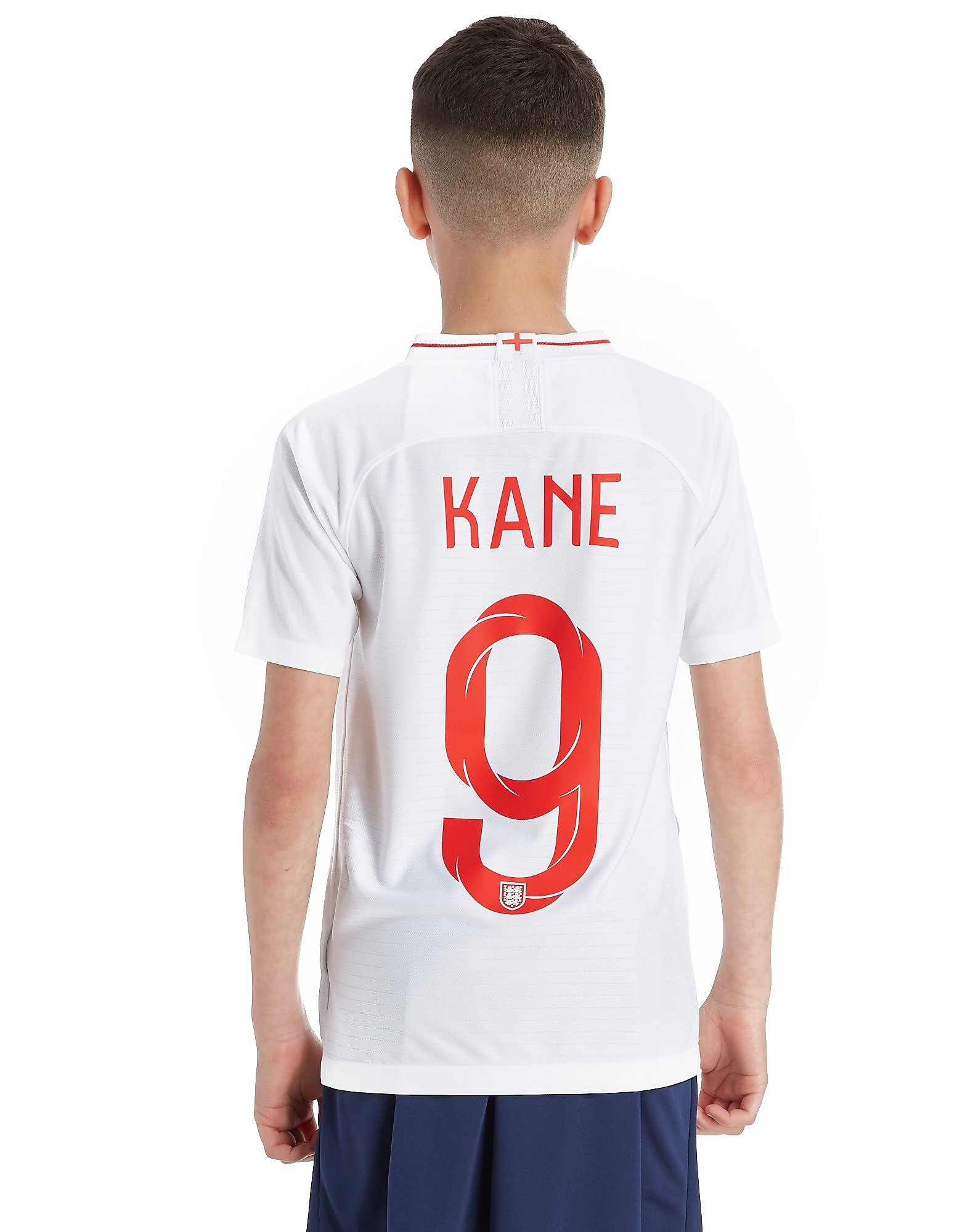 Nike England 2018 Kane #9 Home Shirt Junior