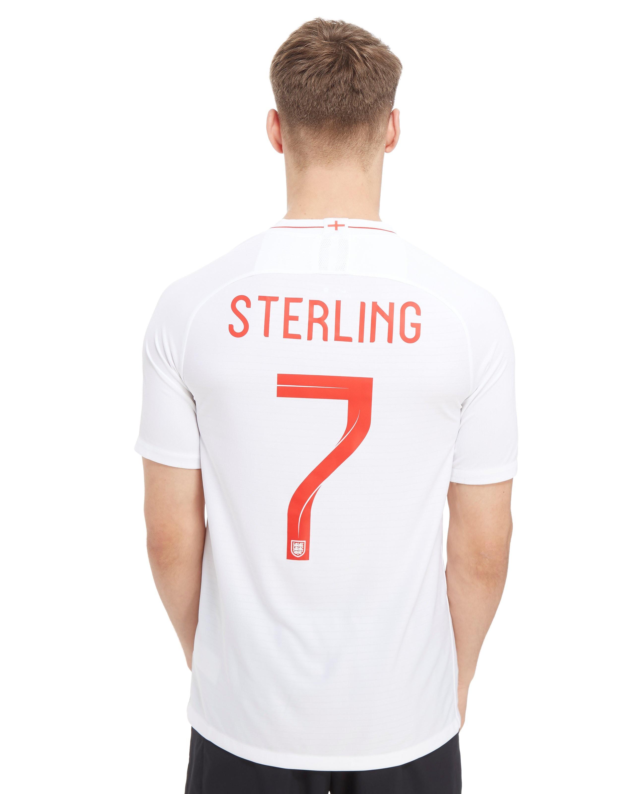 Nike England 2018 Sterling #7 Home Shirt