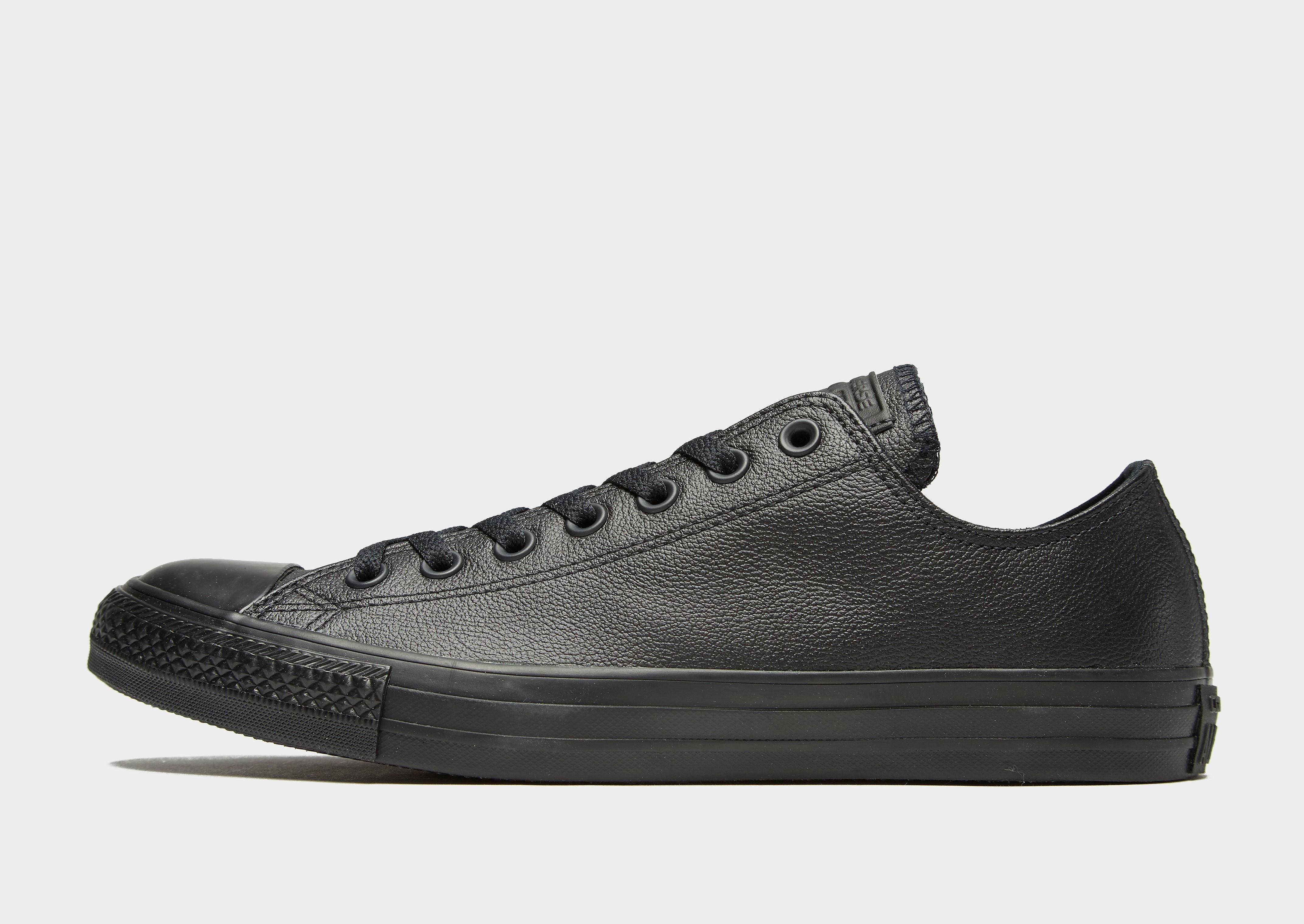Converse All Star Ox Leather Mono - Zwart - Heren