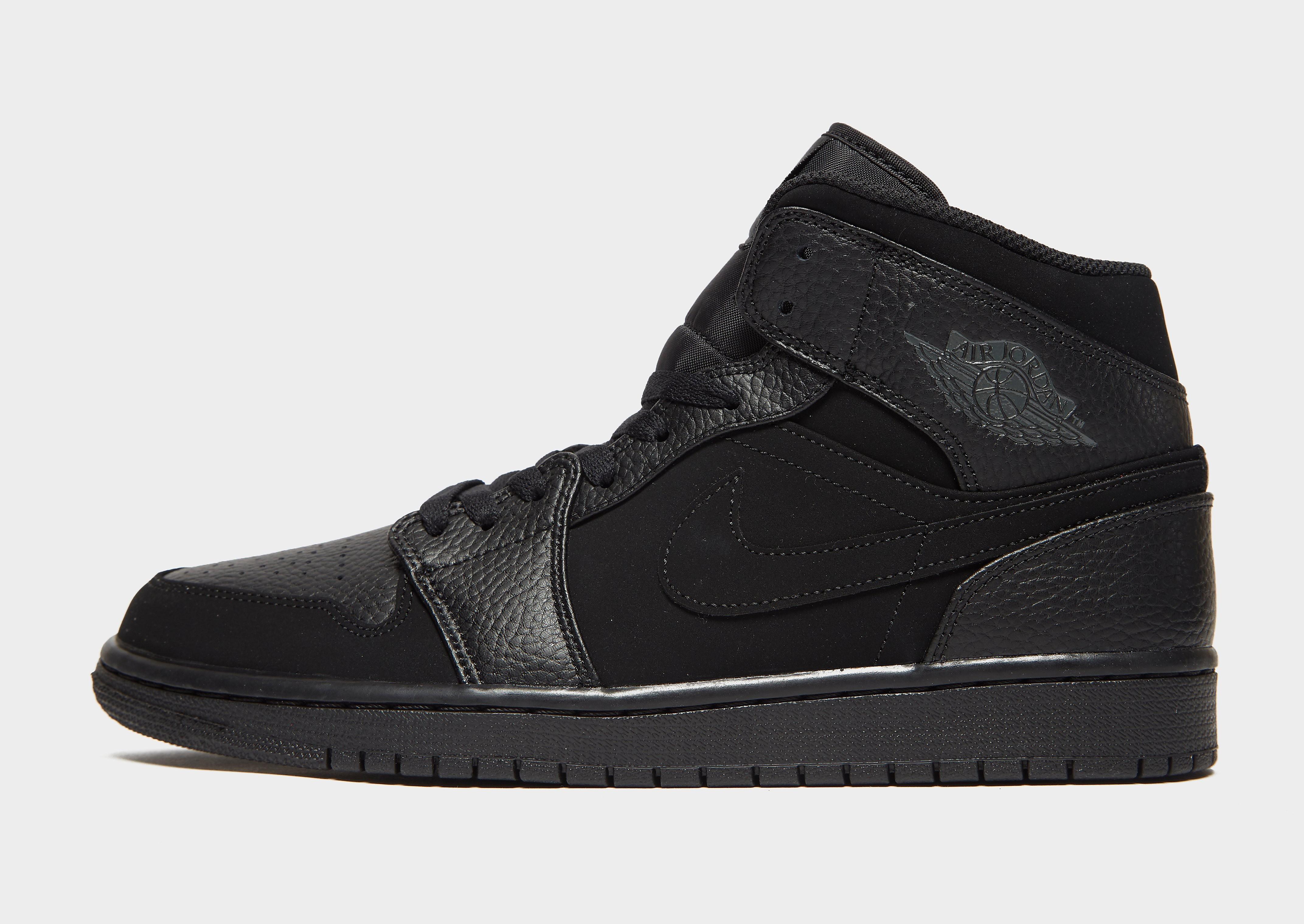 Jordan herensneaker zwart