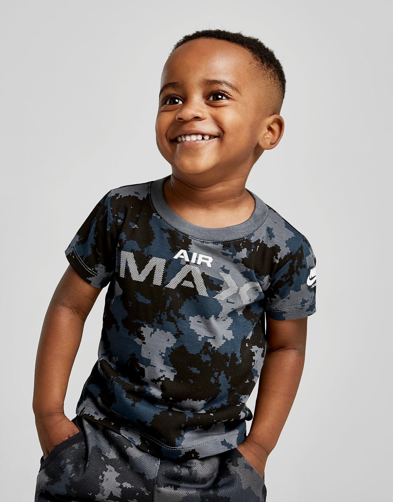 Nike Air Max Camo T-Shirt Baby's - alleen bij JD - Blauw - Kind