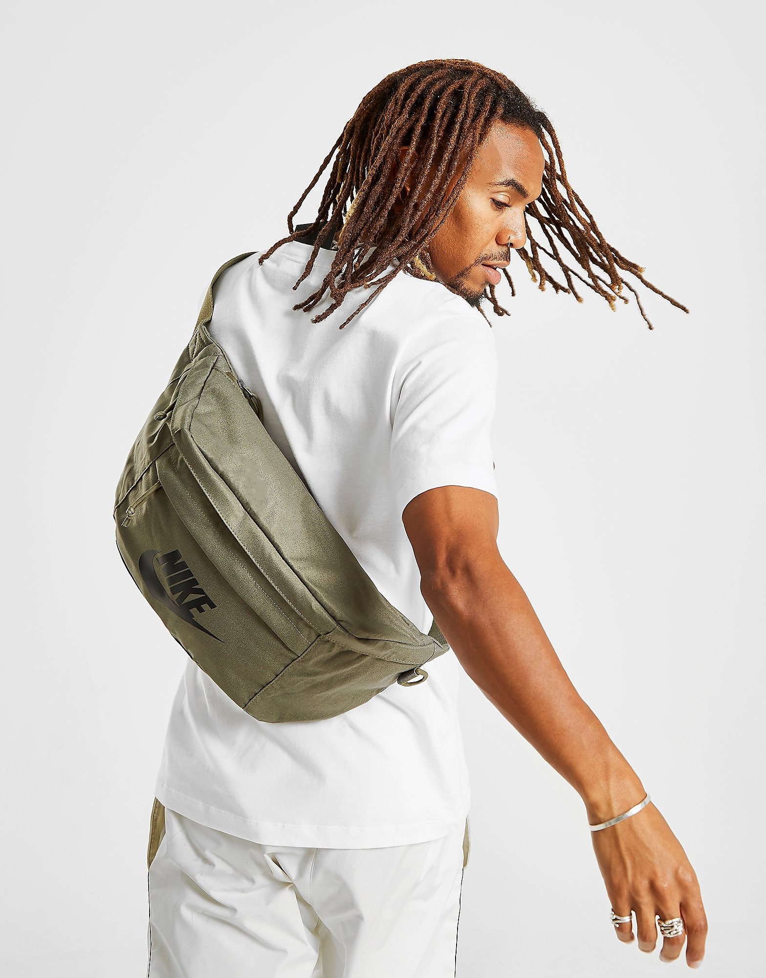 Nike Tech Waist Bag - Olive/Black - Heren