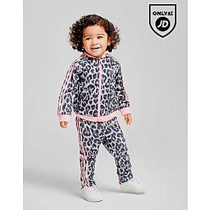 ca6d3b05b6e7 adidas Originals Girls  Leopard Superstar Tracksuit Infant ...