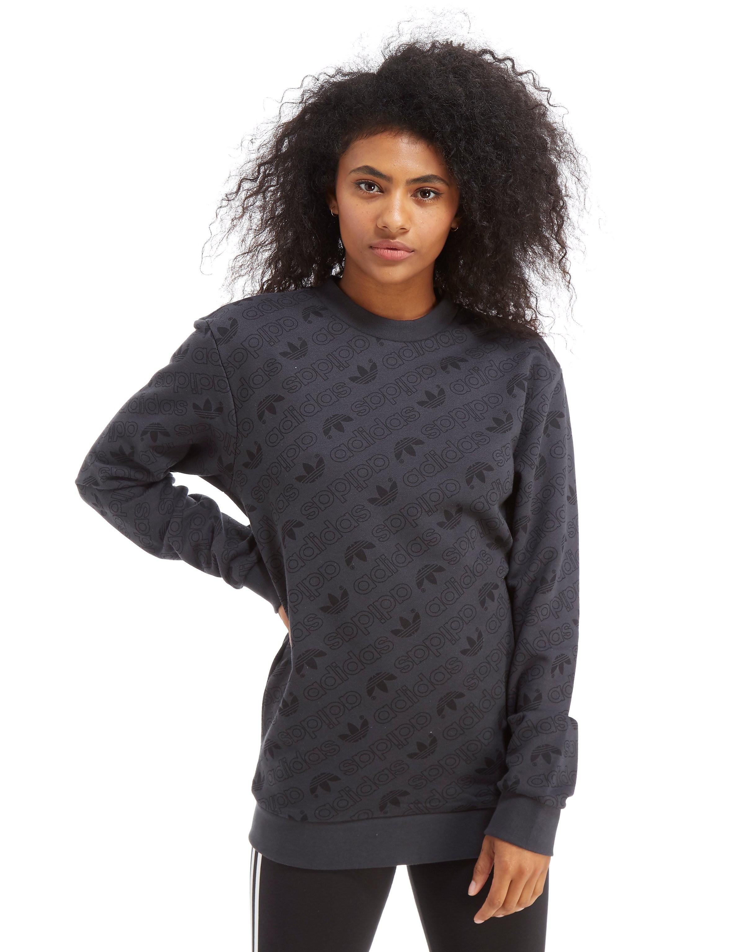 adidas Originals All Over Print Crew Sweatshirt