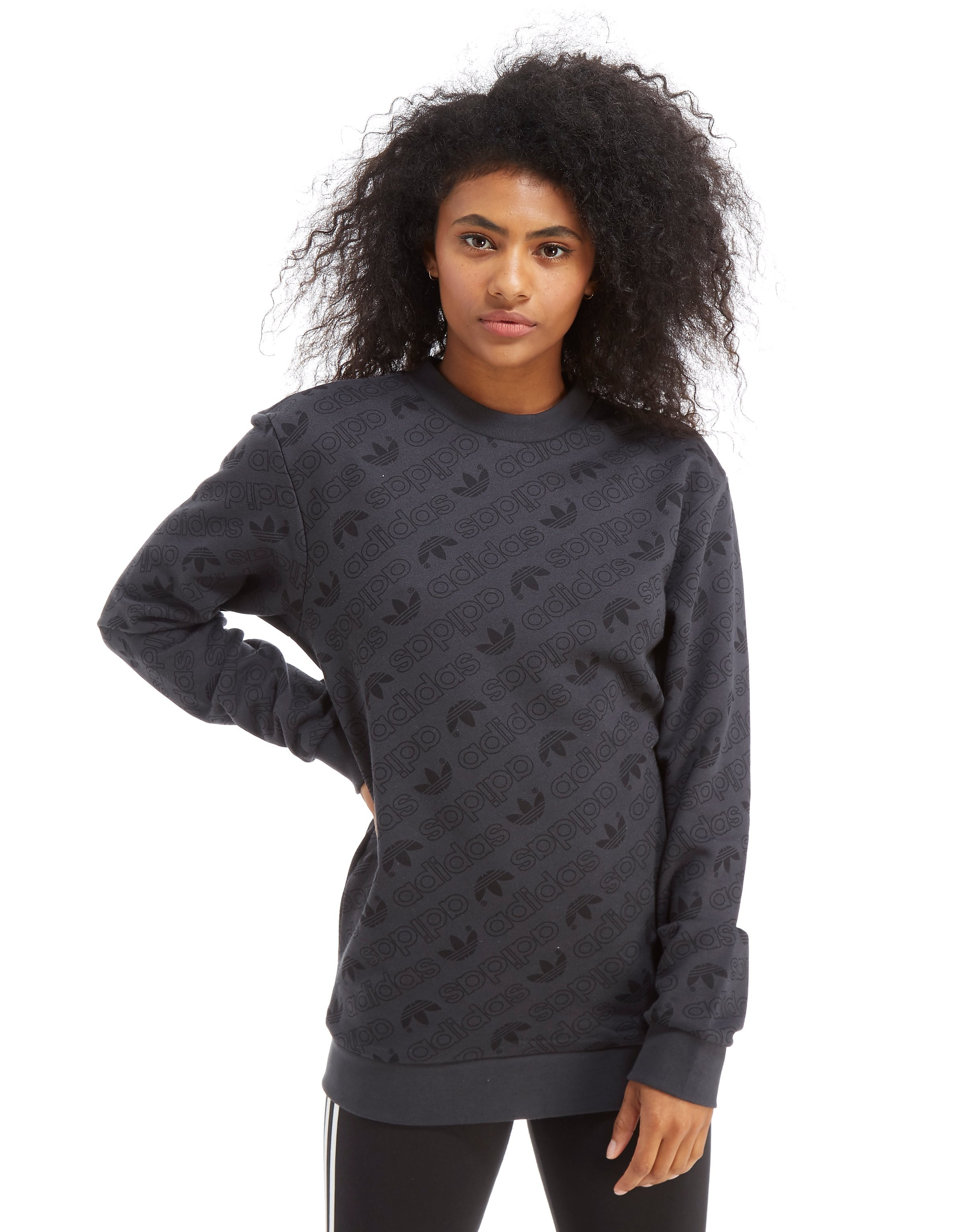 adidas Originals All Over Print Crew Sweatshirt
