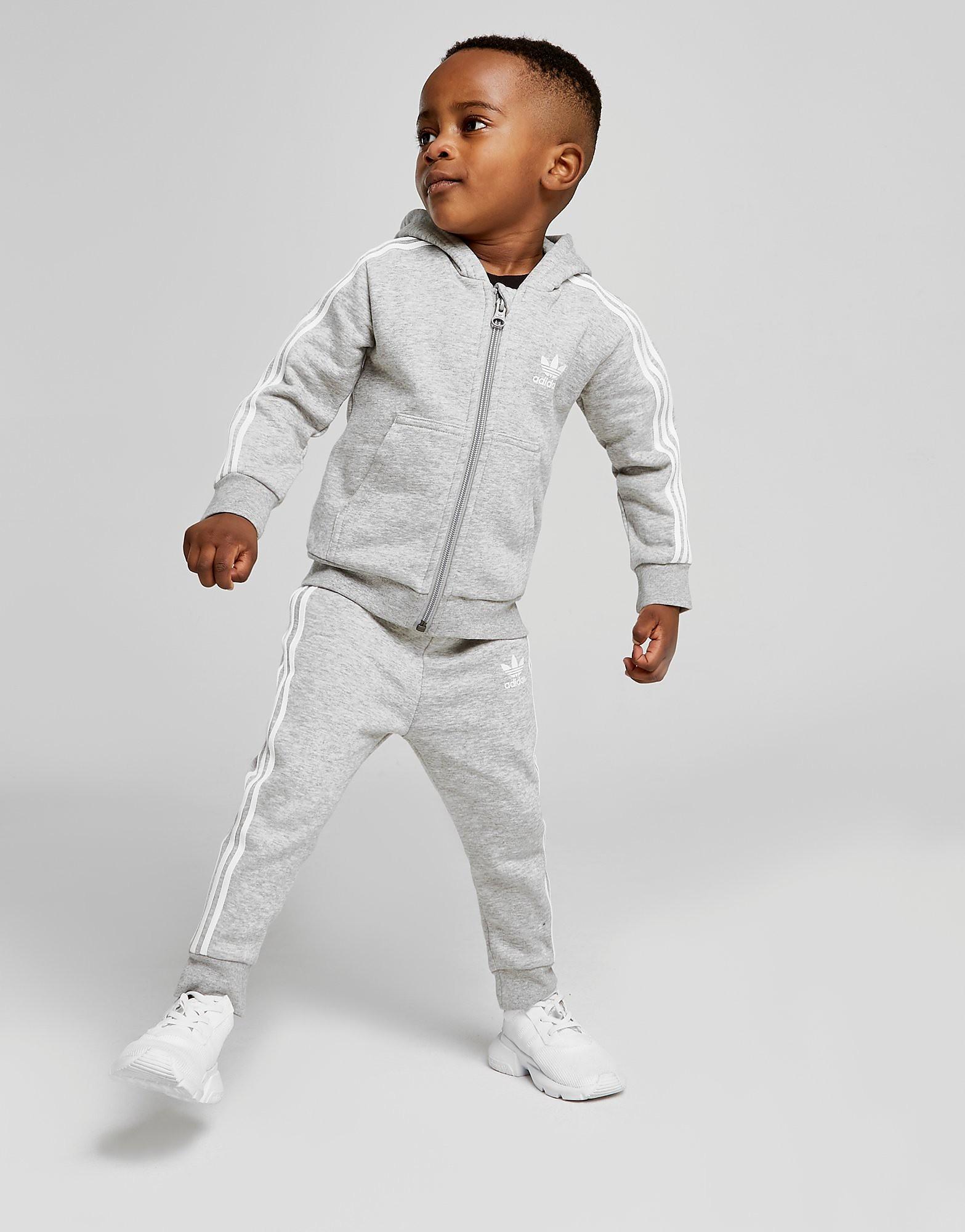 adidas Originals Full Zip Suit Baby's - Grijs - Kind