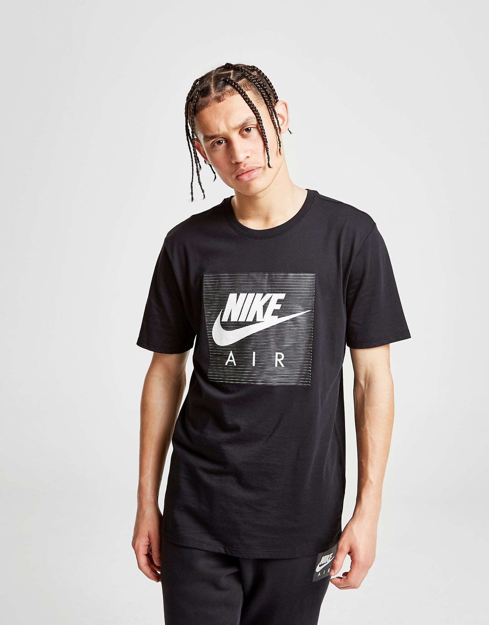 Nike Air Box T-Shirt Heren - Zwart - Heren
