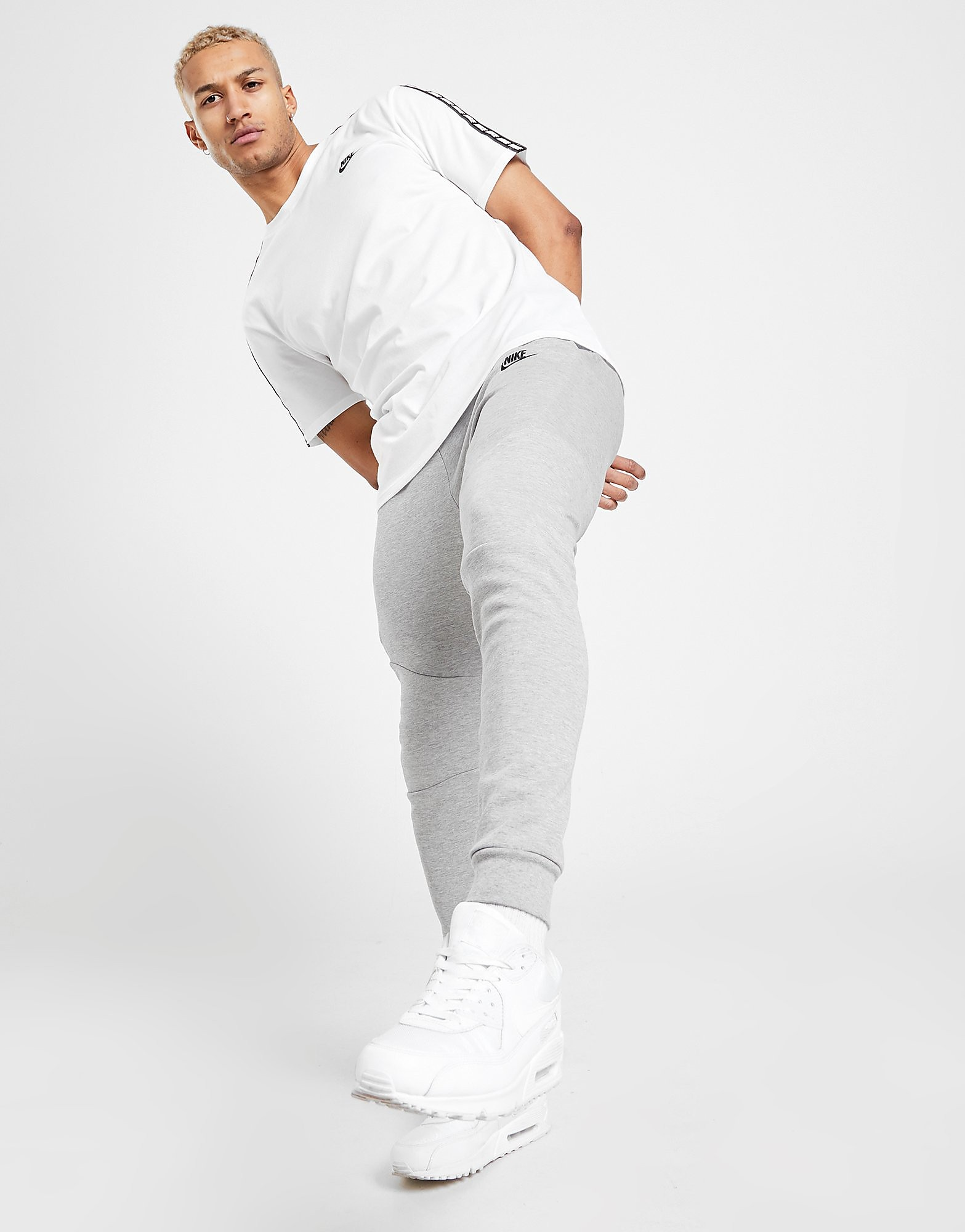 Nike Tech Fleece Track Pants Heren - Grijs - Heren