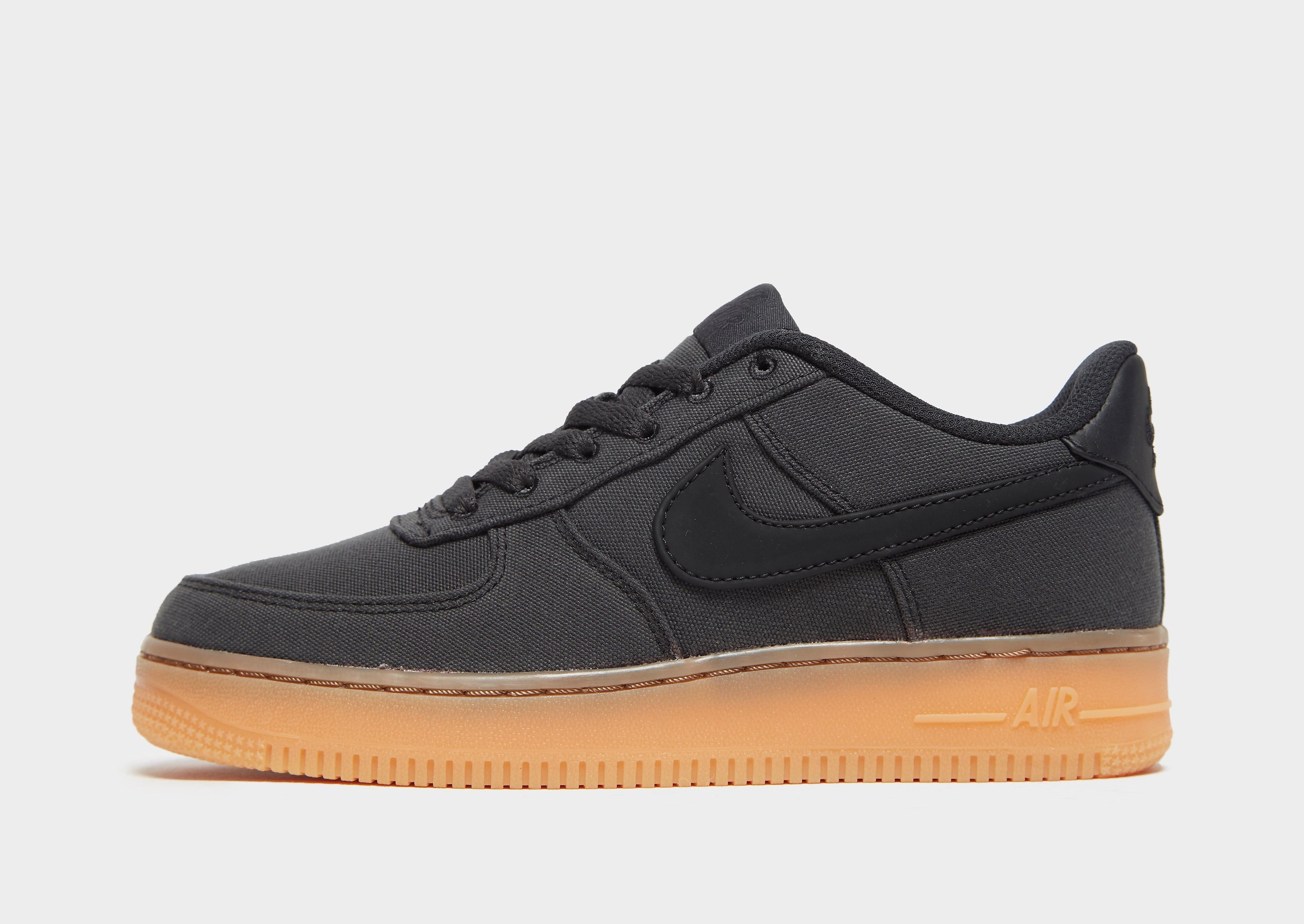 Nike Air Force 1 Low Junior - Zwart - Kind